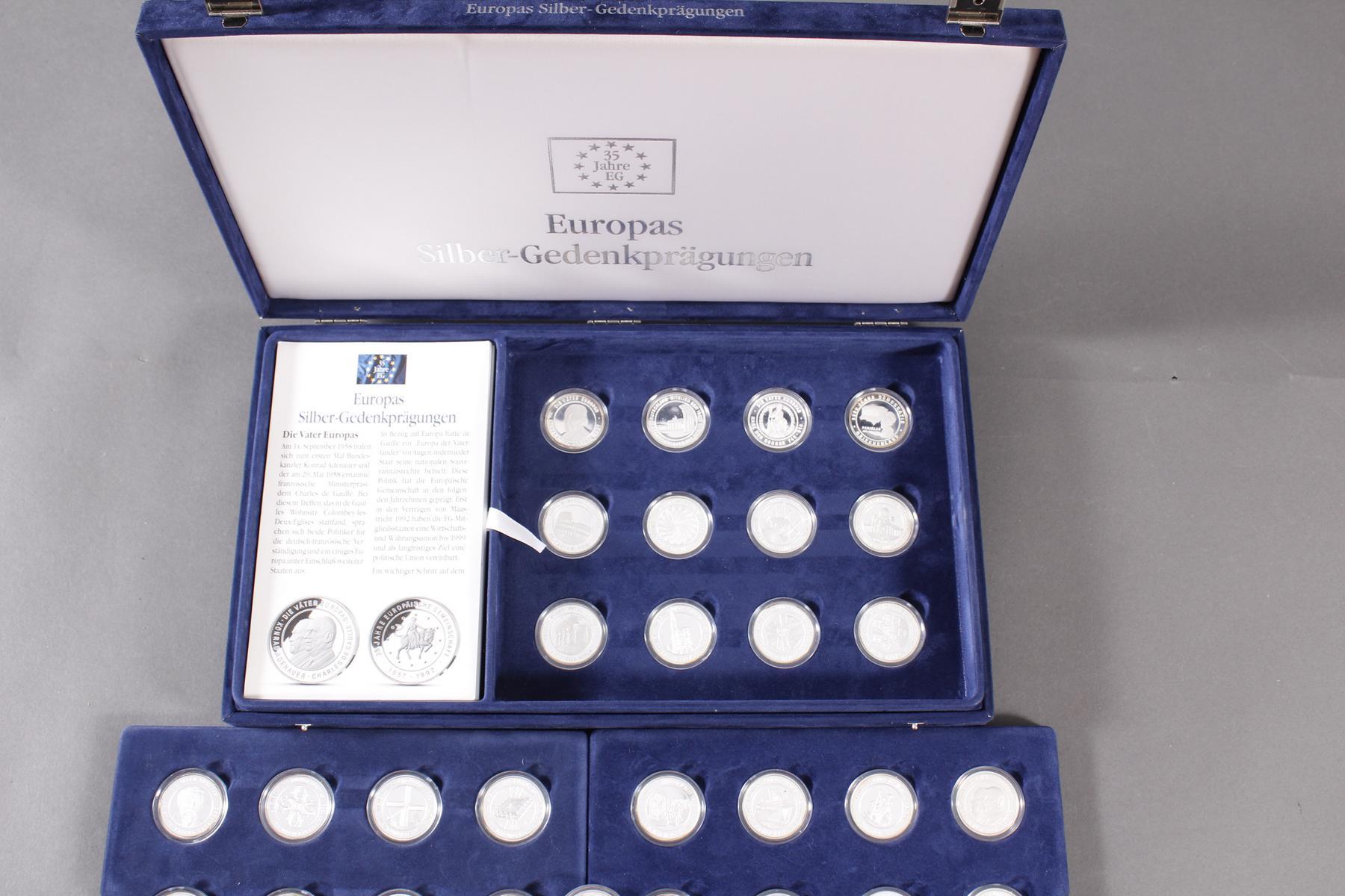 Sammlung Europas Silber Gedenkprägungen-4