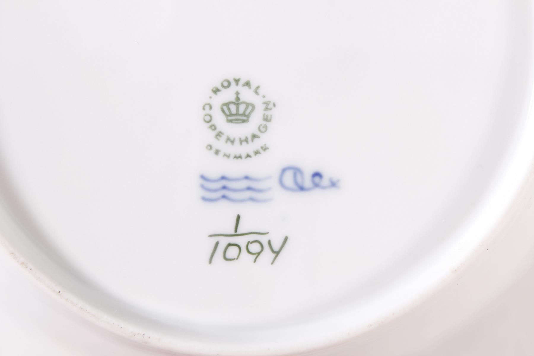 4 Royal Copenhagen Muselmalet Teller-3