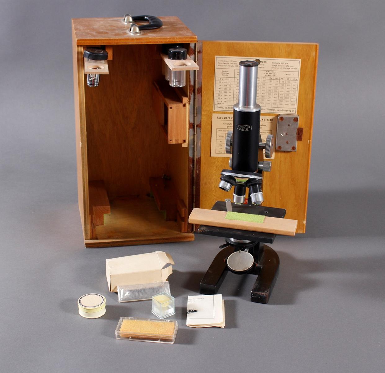 Mikroskop P. Waechter Wetzlar