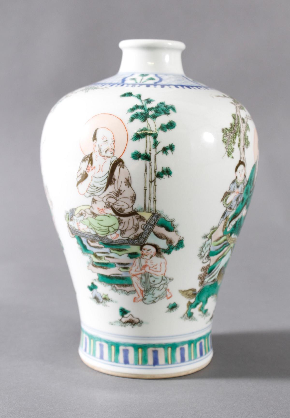 Meiping Porzellanvase, China, 19. Jahrhundert