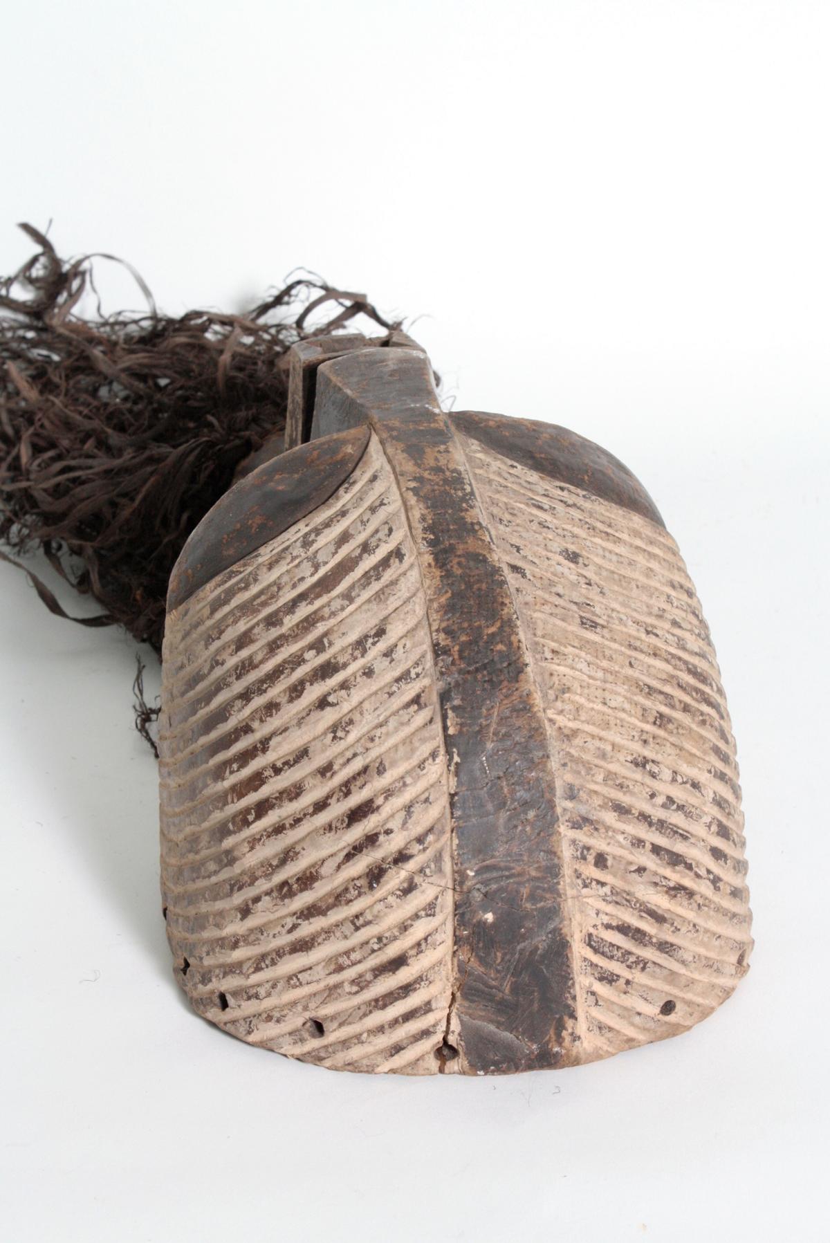 Weibliche Kifwebe-Maske 'kikashi', Kongo/Songe,  1. Hälfte 20. Jh-5