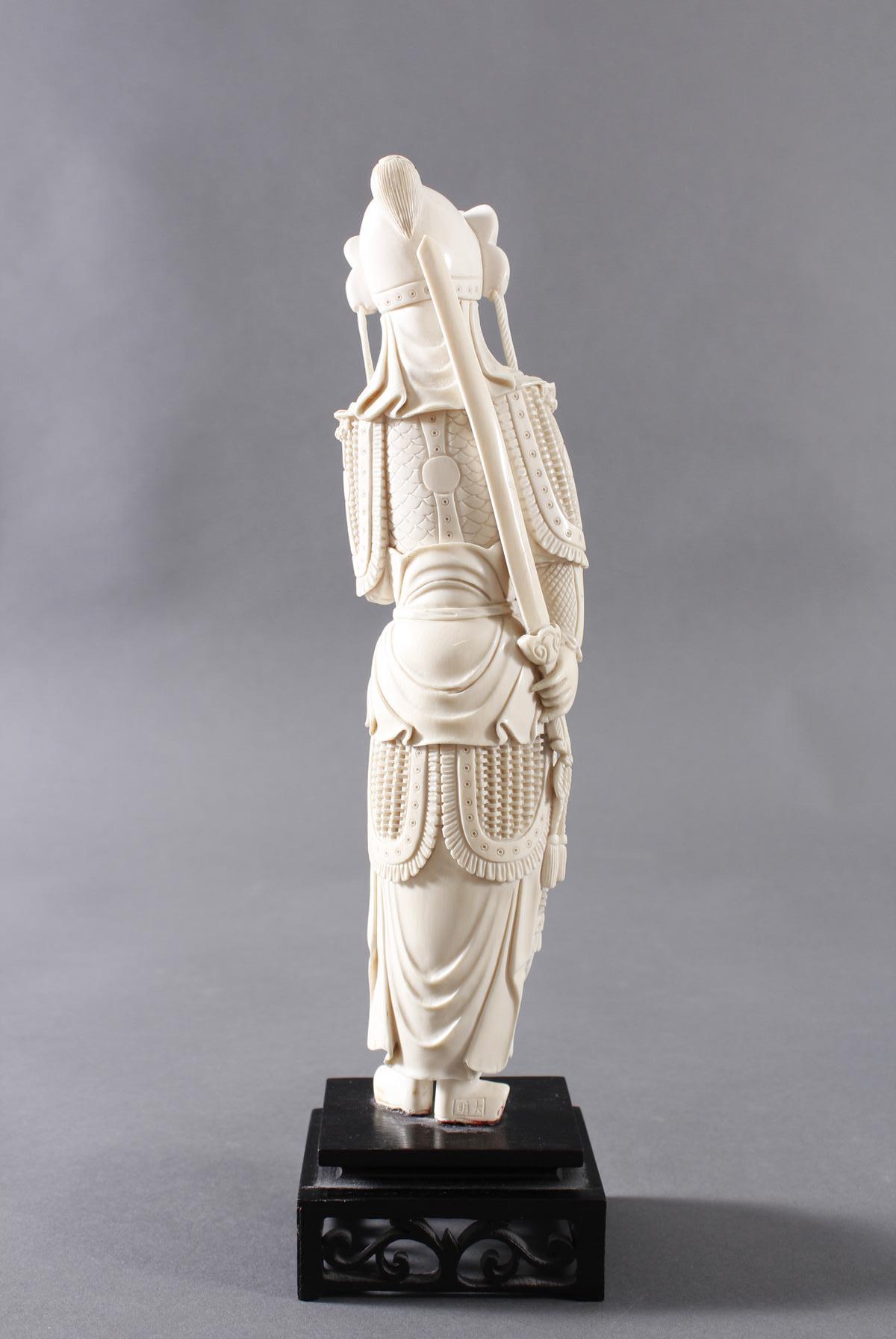Elfenbeinfigur, China um 1900-3