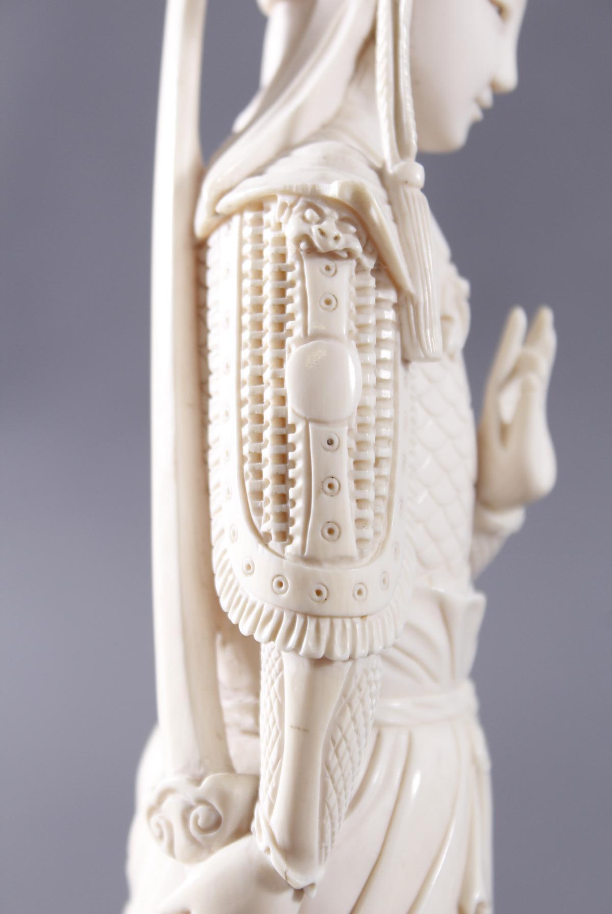 Elfenbeinfigur, China um 1900-6