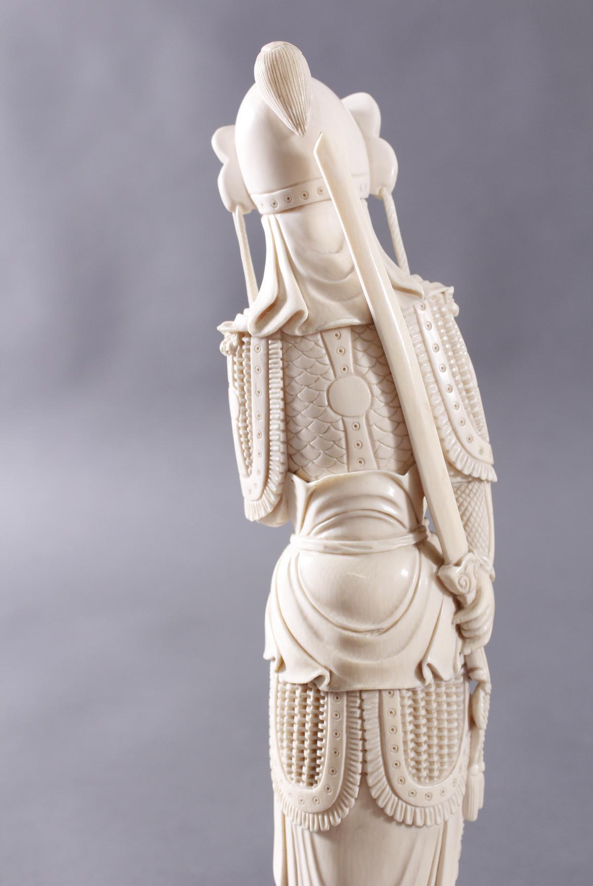 Elfenbeinfigur, China um 1900-7