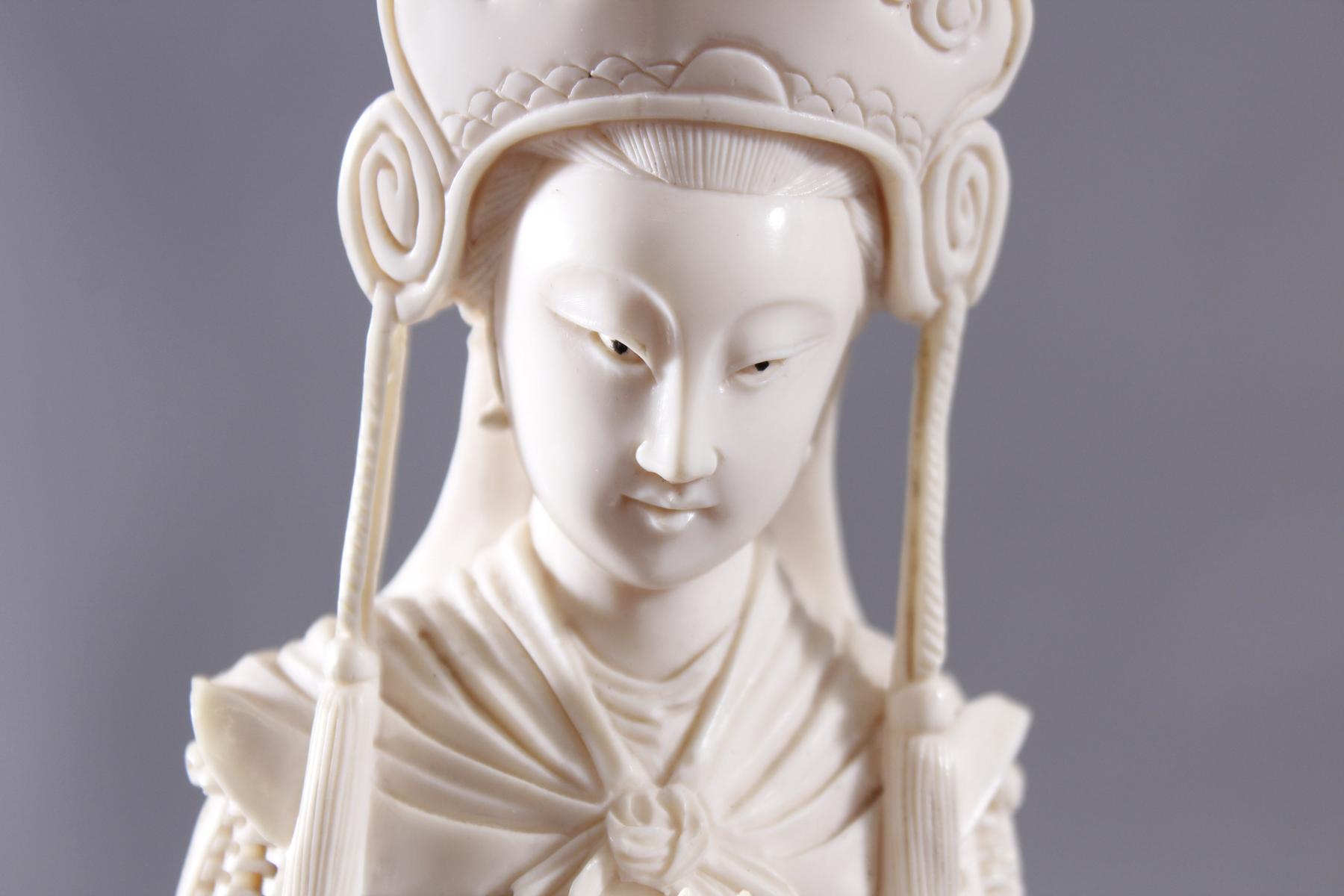 Elfenbeinfigur, China um 1900-10