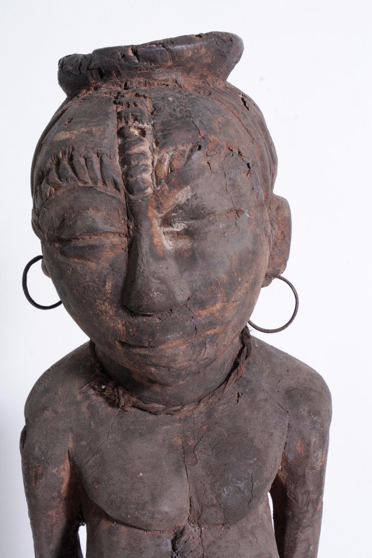 Ältere Ahnen-Figur, Tabwa, D. R. Kongo-2