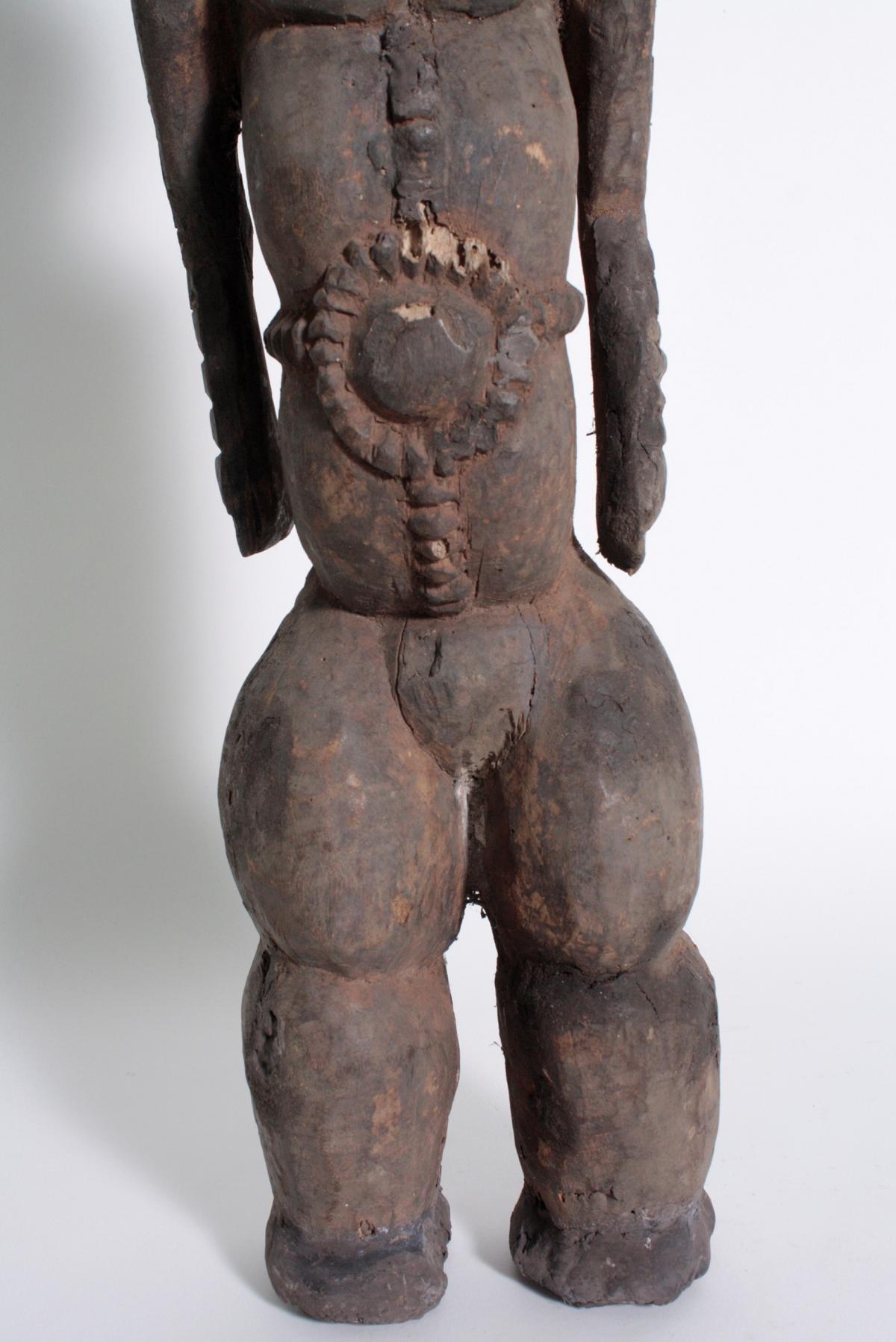 Ältere Ahnen-Figur, Tabwa, D. R. Kongo-3