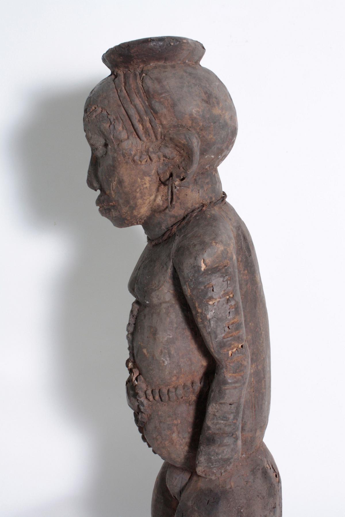 Ältere Ahnen-Figur, Tabwa, D. R. Kongo-5