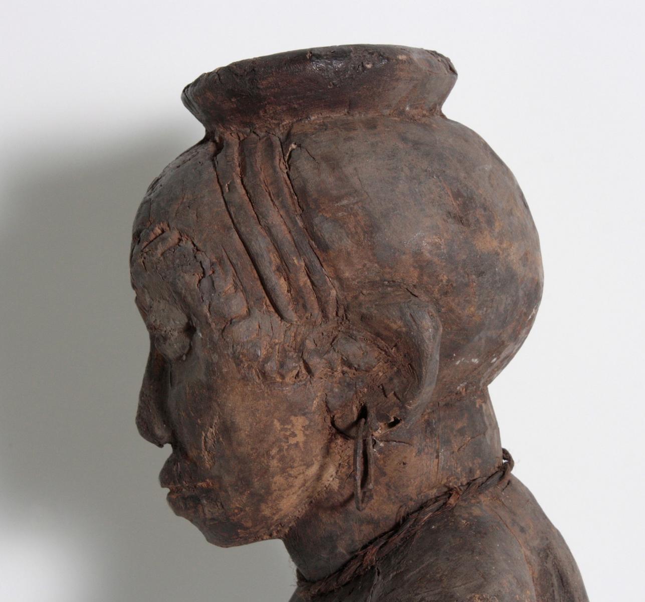 Ältere Ahnen-Figur, Tabwa, D. R. Kongo-6
