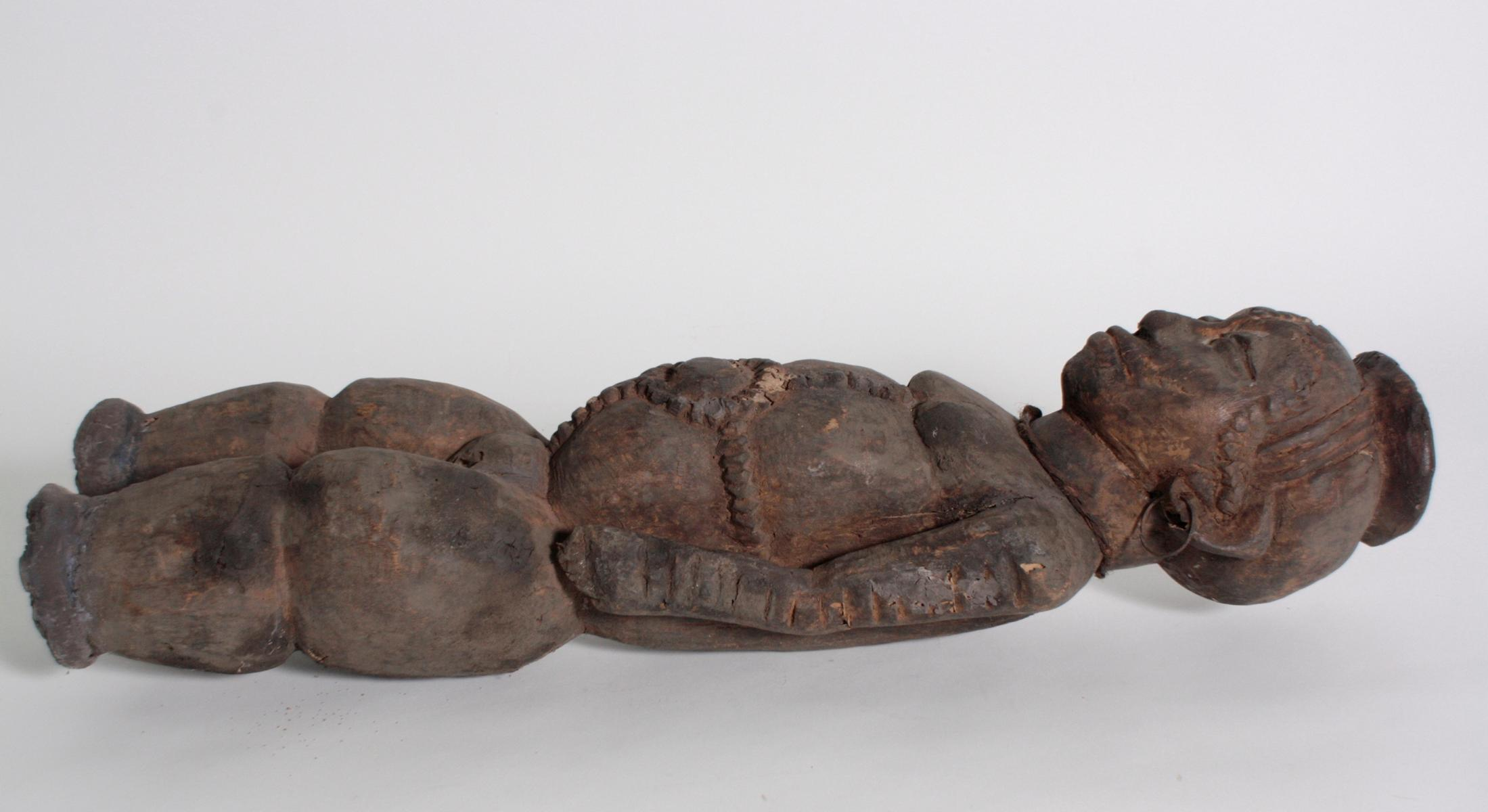 Ältere Ahnen-Figur, Tabwa, D. R. Kongo-7