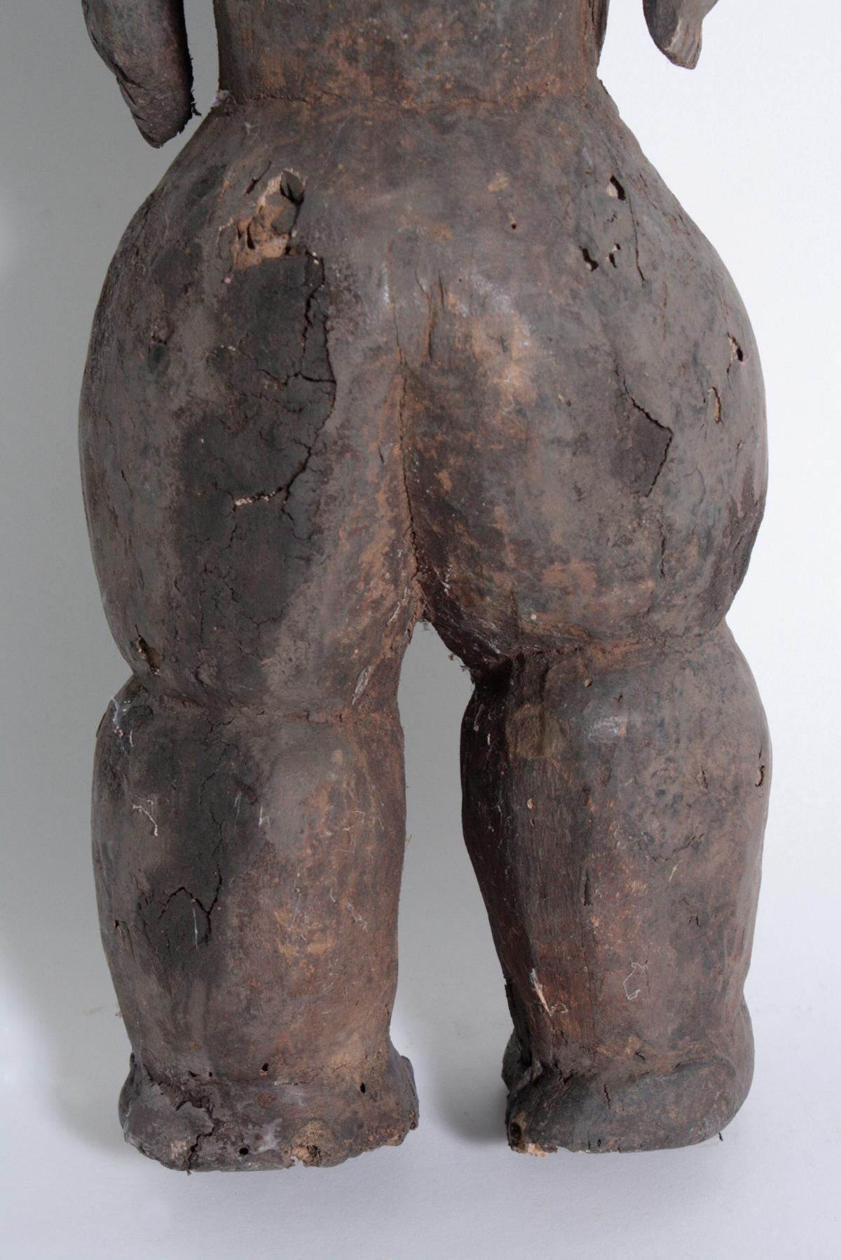 Ältere Ahnen-Figur, Tabwa, D. R. Kongo-10