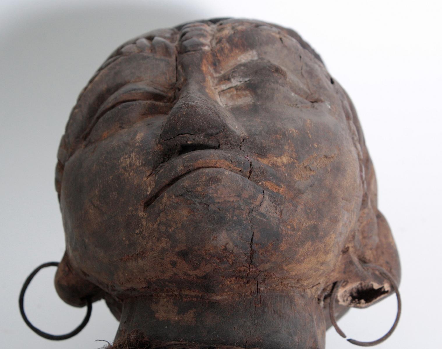 Ältere Ahnen-Figur, Tabwa, D. R. Kongo-13
