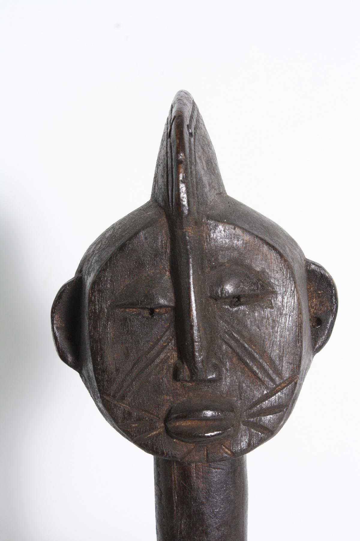 Sitzende weibliche Figur, Bambara, Mali, 1. Hälfte 20. Jh.-2