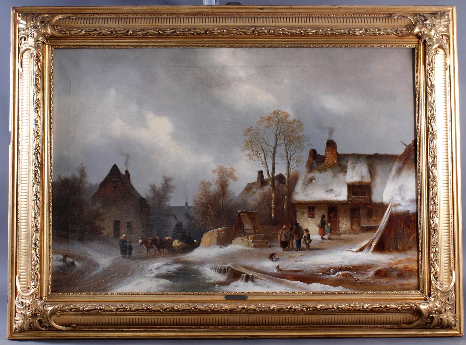 Anton Doll 1826 – 1887, Winterfreuden