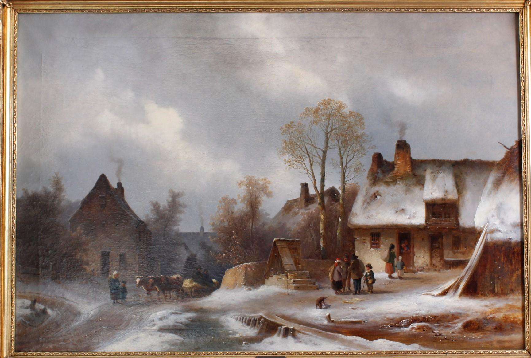 Anton Doll 1826 – 1887, Winterfreuden-2