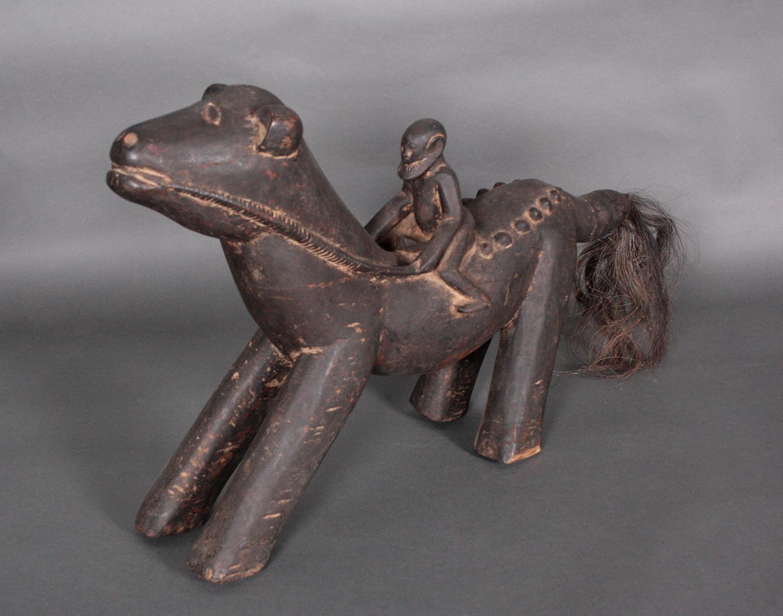 Geschnitzter Tierfigur, wohl Dogon, Mali, 1. Hälfe 20. Jh.