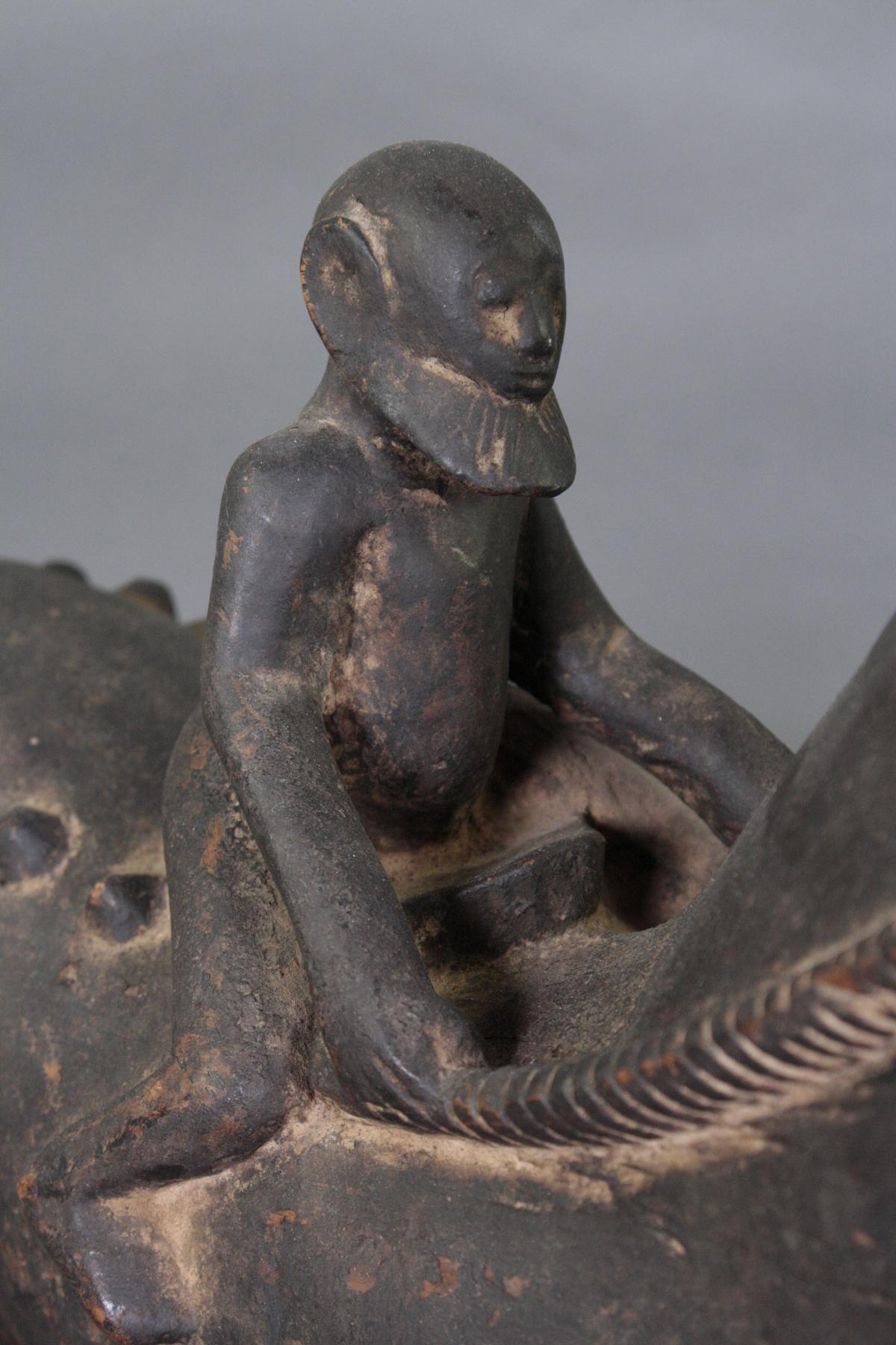 Geschnitzter Tierfigur, wohl Dogon, Mali, 1. Hälfe 20. Jh.-3