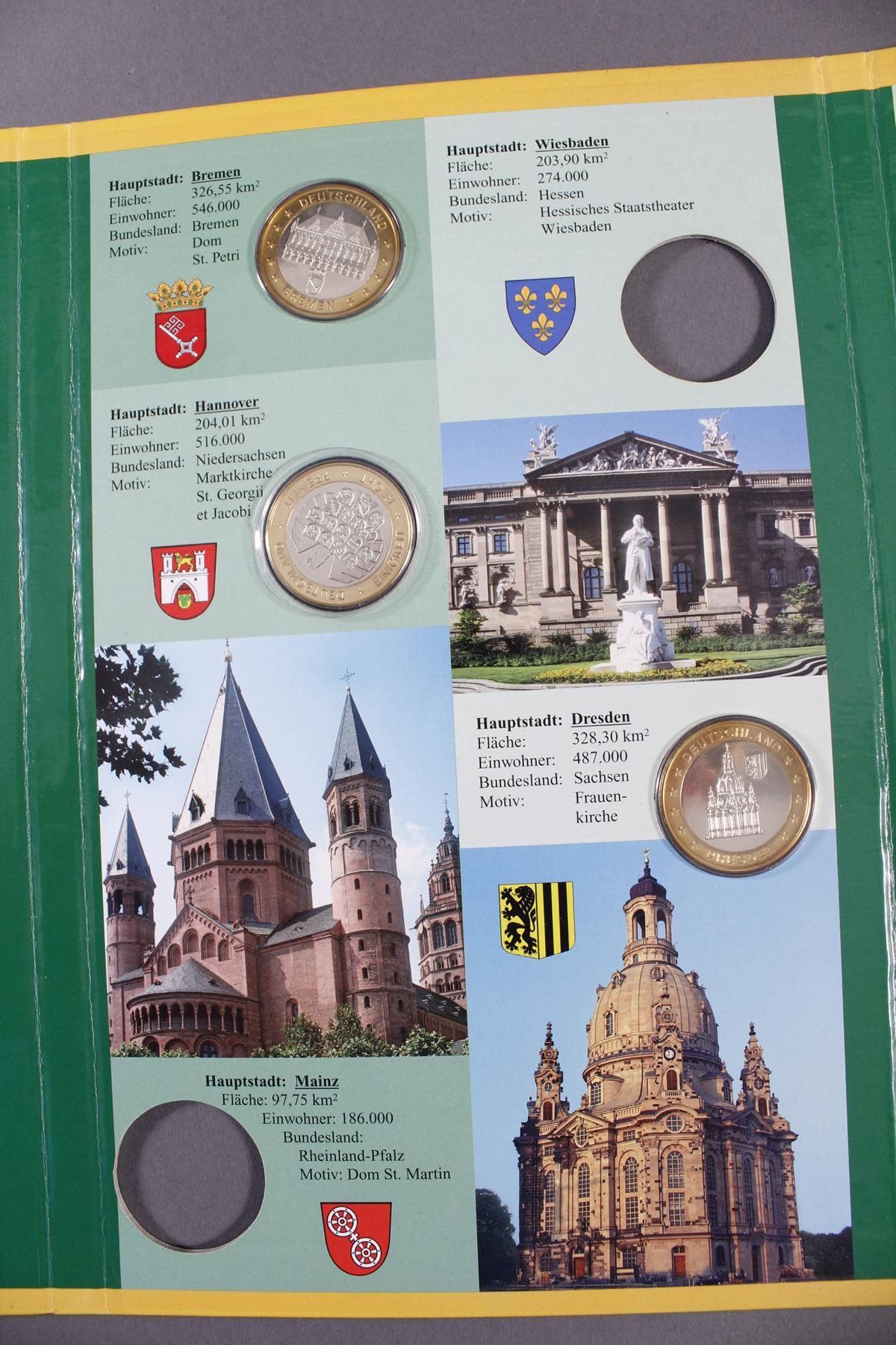 Sammlung Gedenkmedaillen, Messing/Neusilber-7