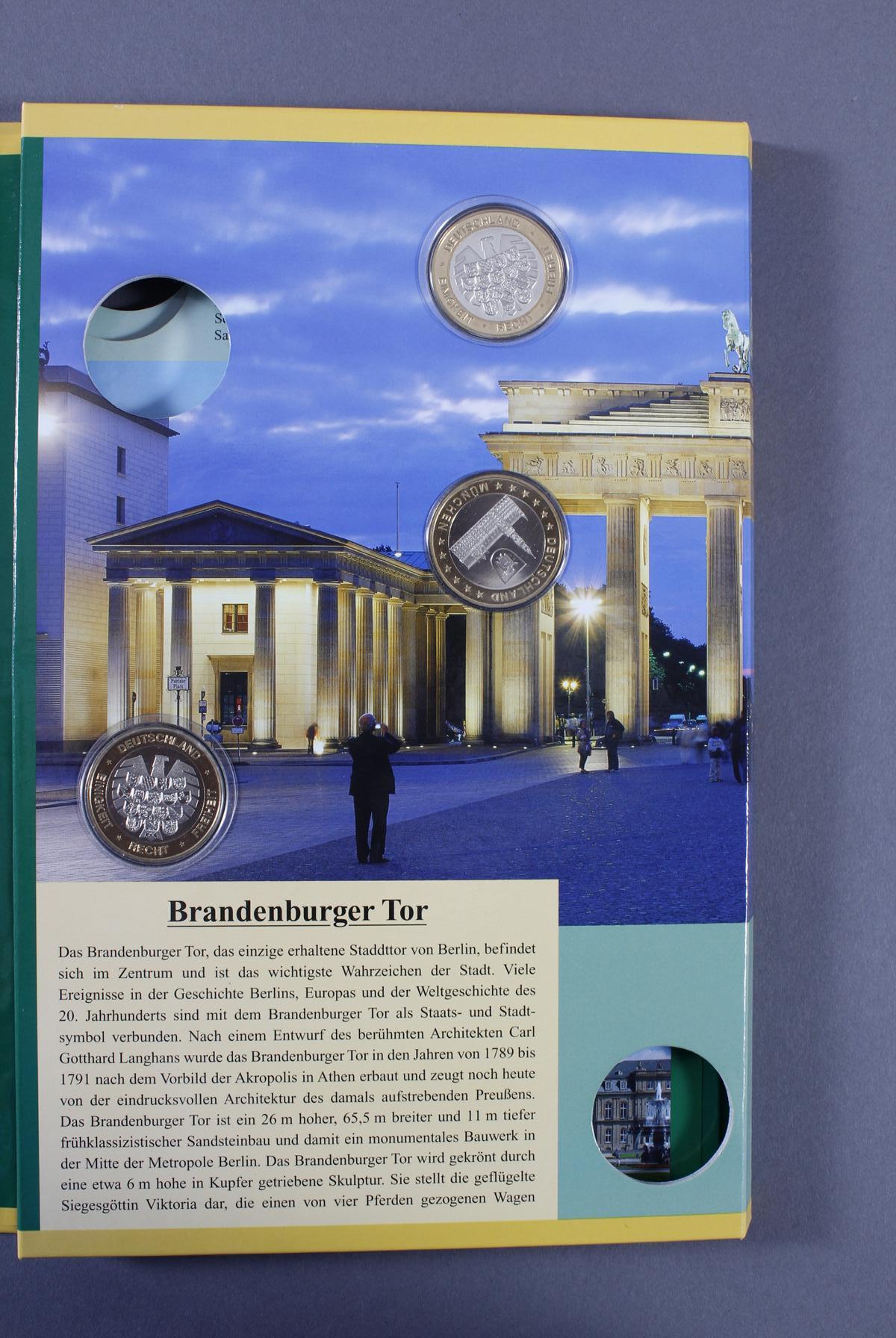 Sammlung Gedenkmedaillen, Messing/Neusilber-9