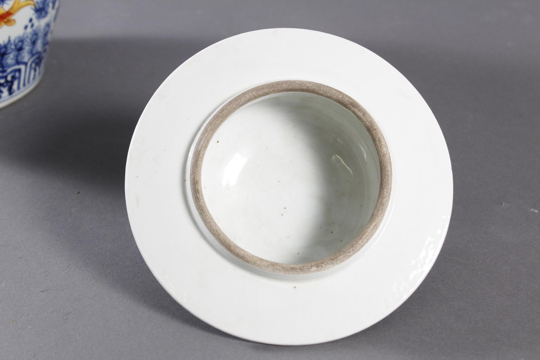 Porzellan Deckelvase, China-5