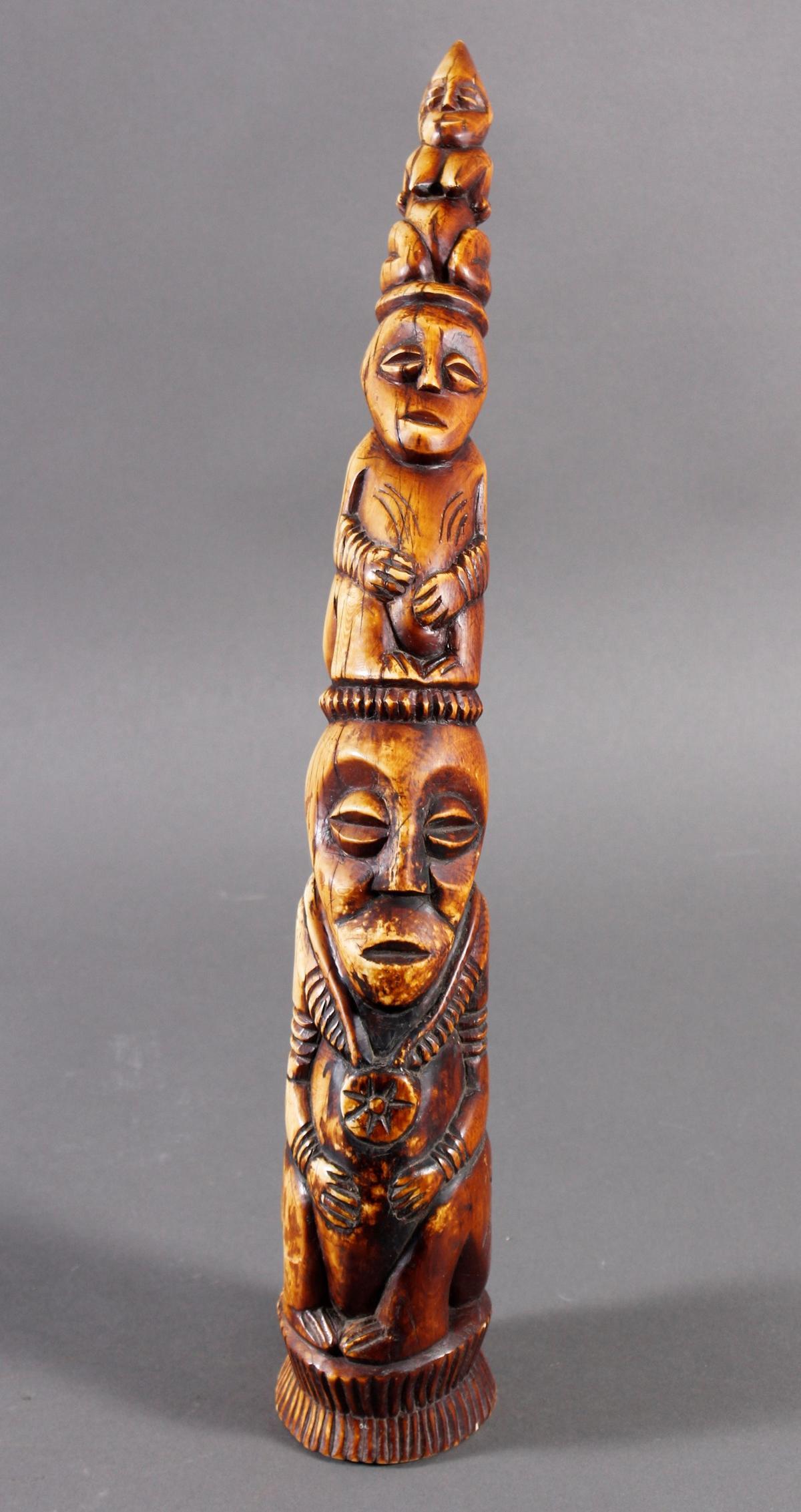 Elfenbein Stoßzahn, Lega / Kongo um 1920 / 1930-2
