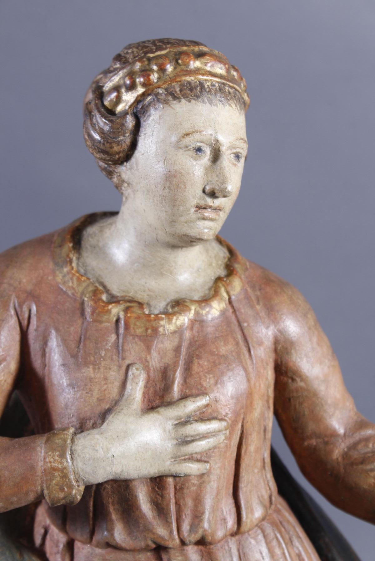 Madonna, Immaculata, Holz, Süddeutschland 18. Jahrhundert-2