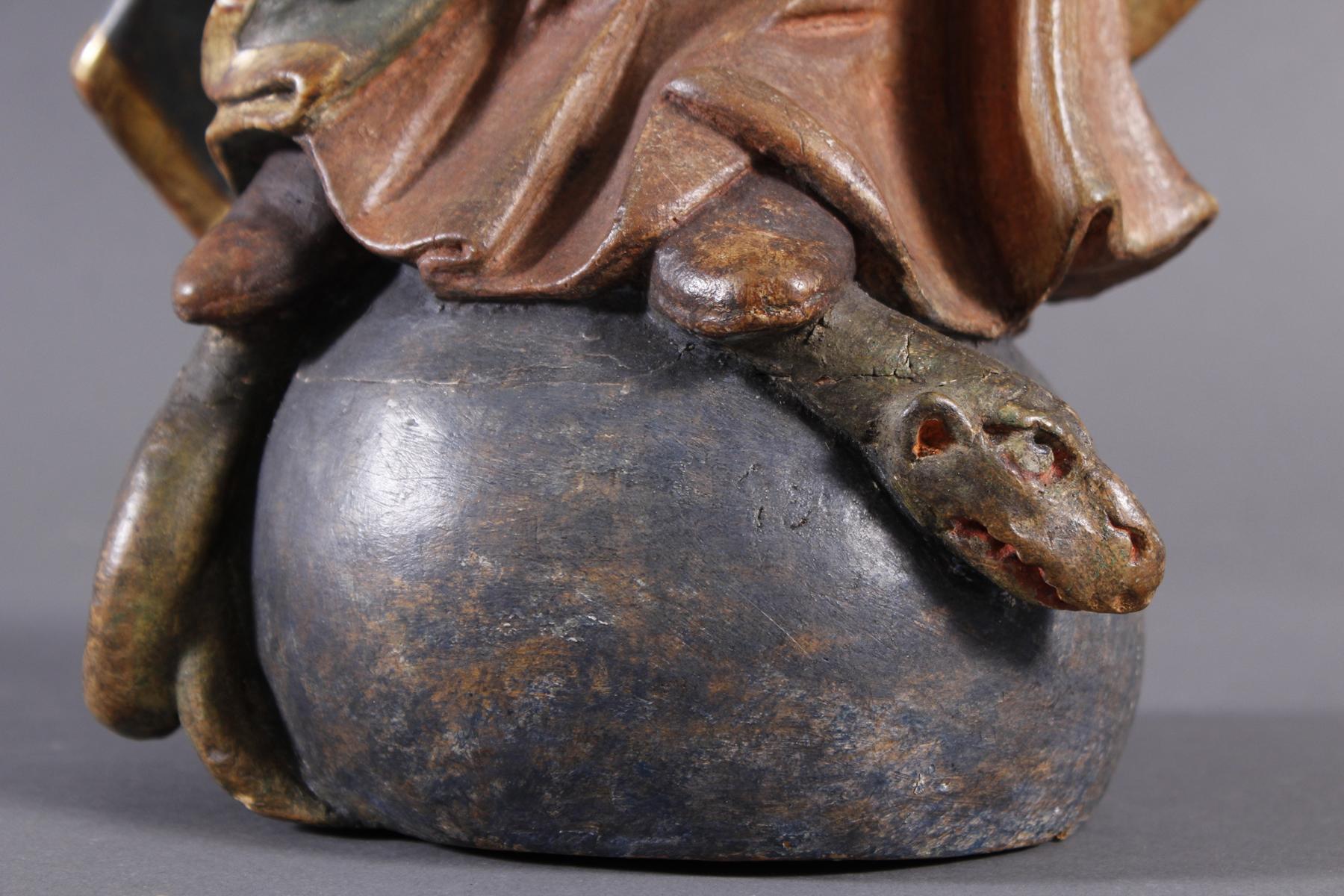 Madonna, Immaculata, Holz, Süddeutschland 18. Jahrhundert-5