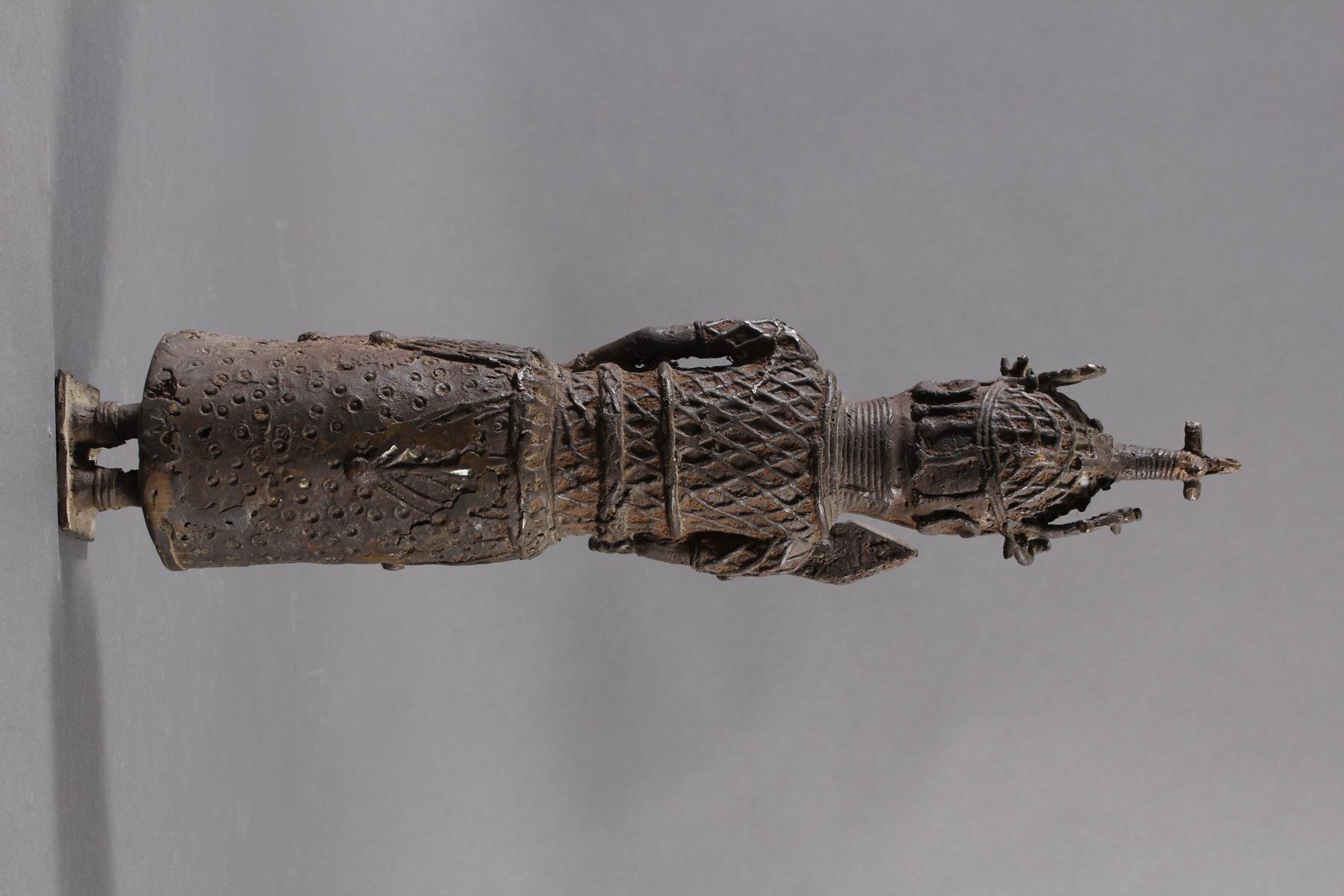 Benin/Afrika, Bronzefigur-4