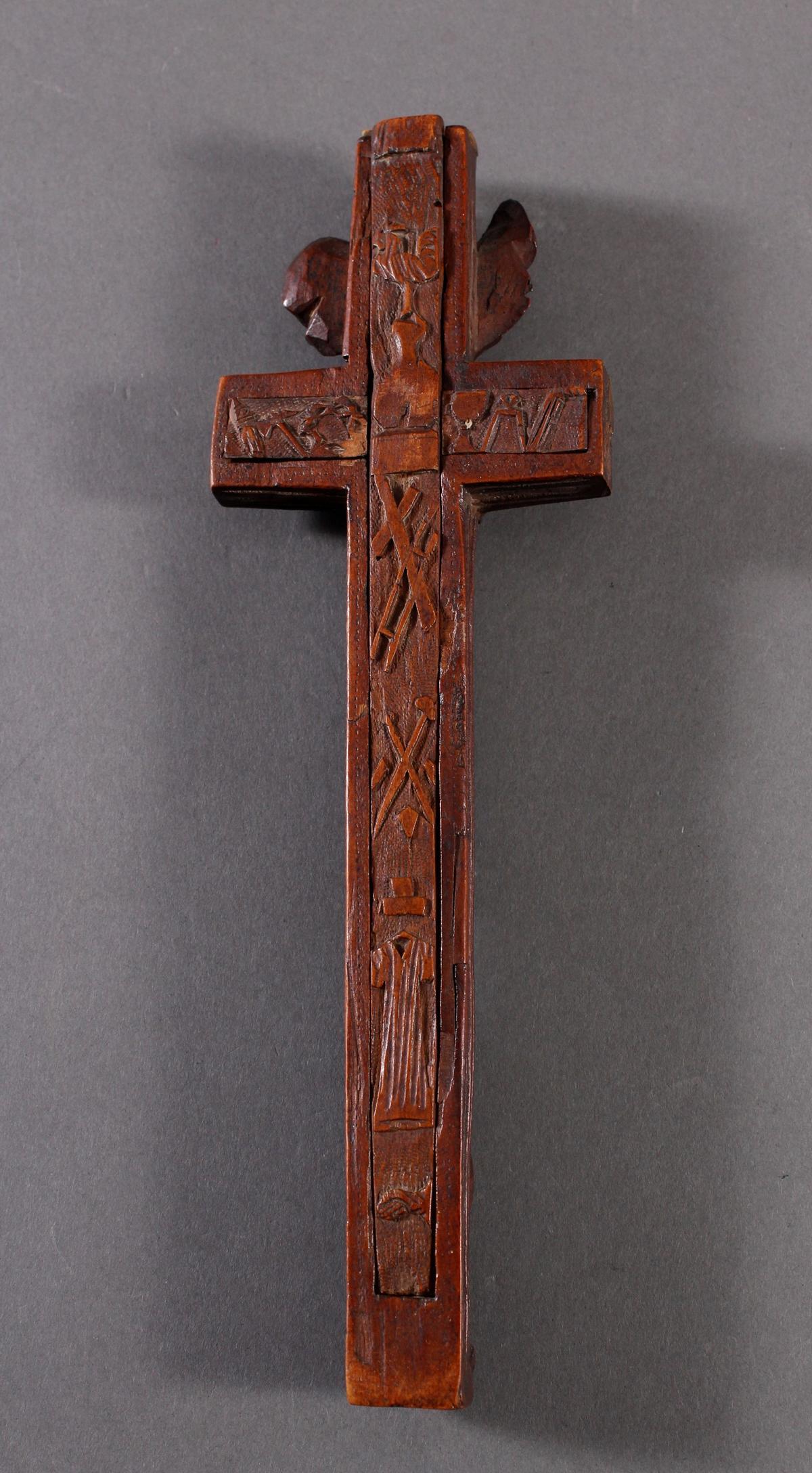 Reliquienkreuz, Deutschland 17. / 18. Jahrhundert-2