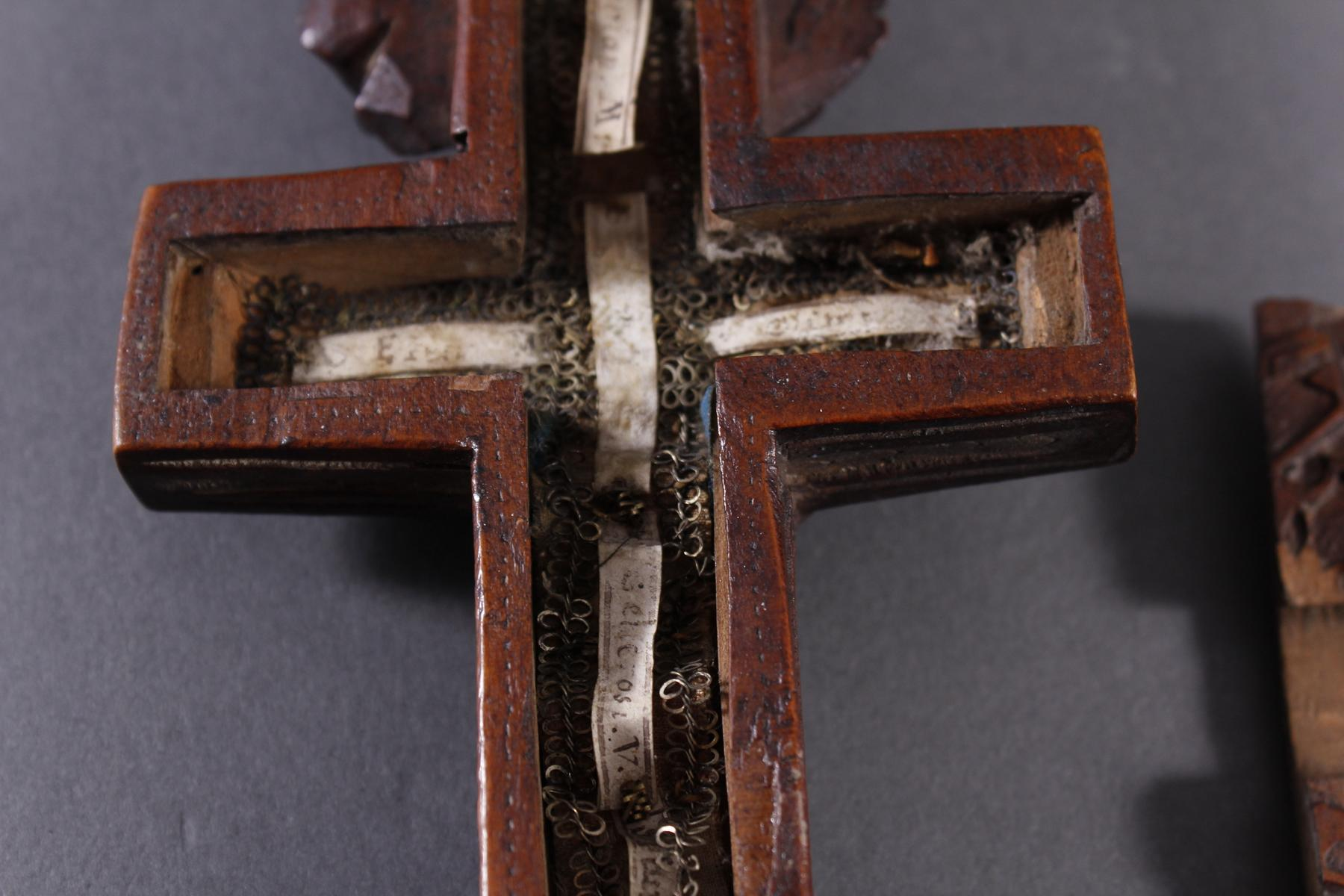 Reliquienkreuz, Deutschland 17. / 18. Jahrhundert-4
