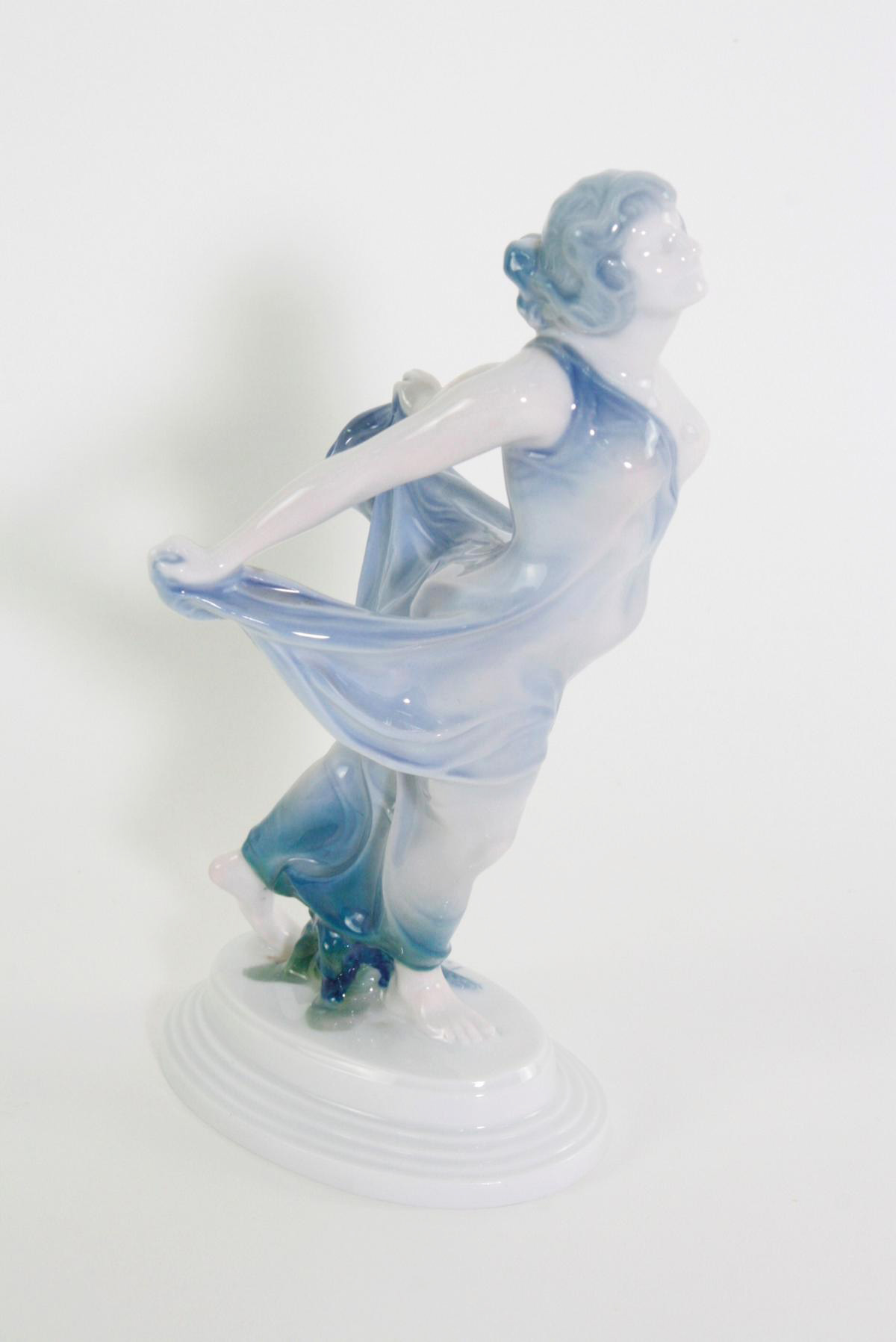 Porzellanskulptur, 'Tänzerin', Rosenthal, Kunst-Abteilung, 1920er Jahre-3