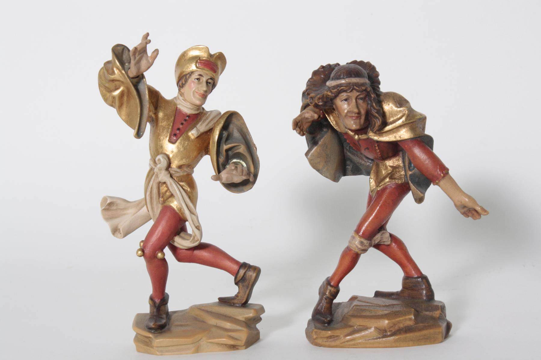 Paar Moriskentänzer aus Oberammergau, 20. Jahrhundert