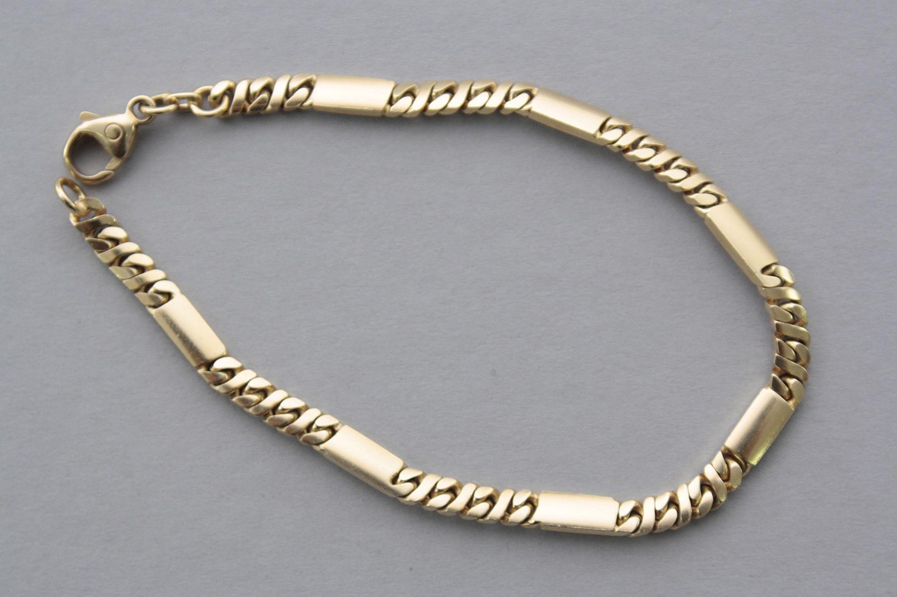 Armband, 14 Karat Gelbgold-2