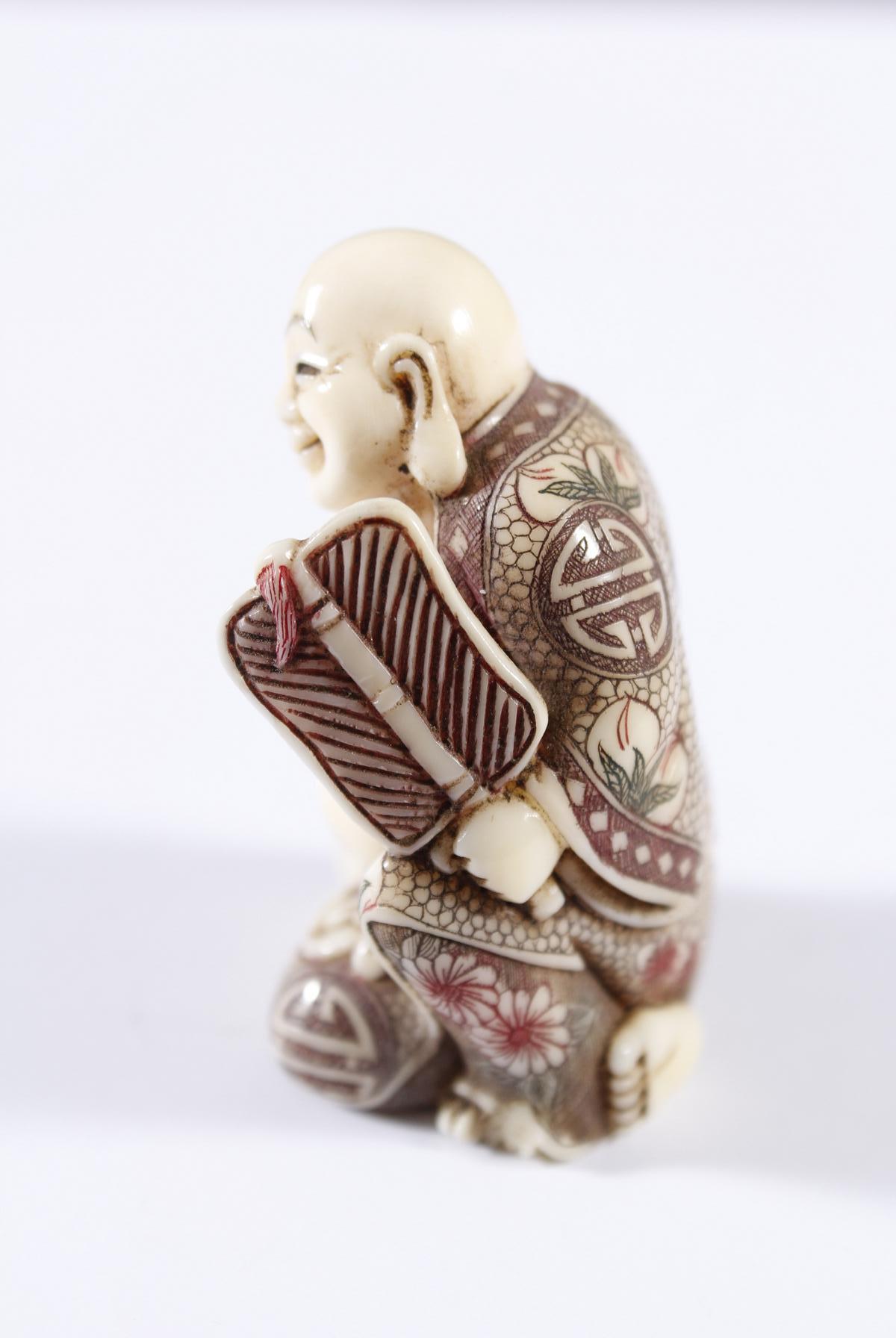 Elfenbein Netsuke, Japan, Meiji Periode-3