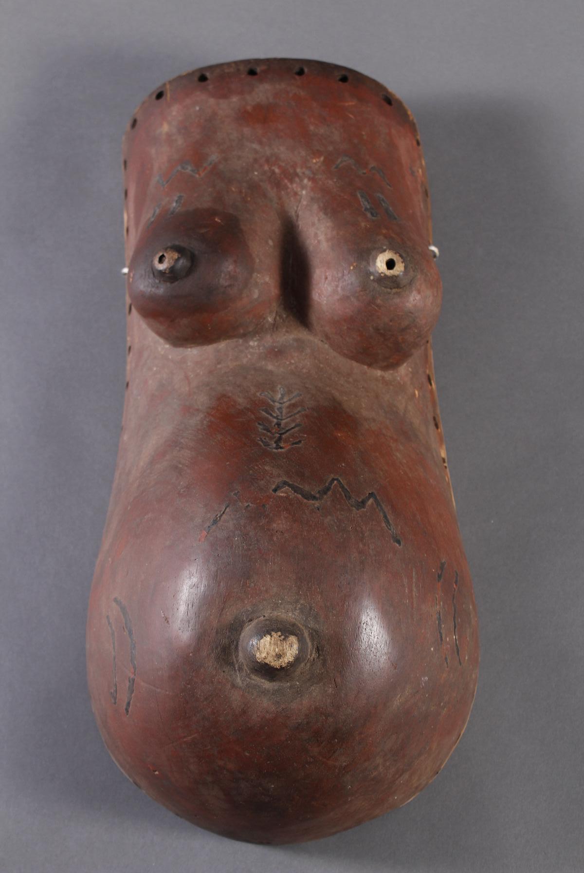 Bauchmaske Makonde / Tanzania