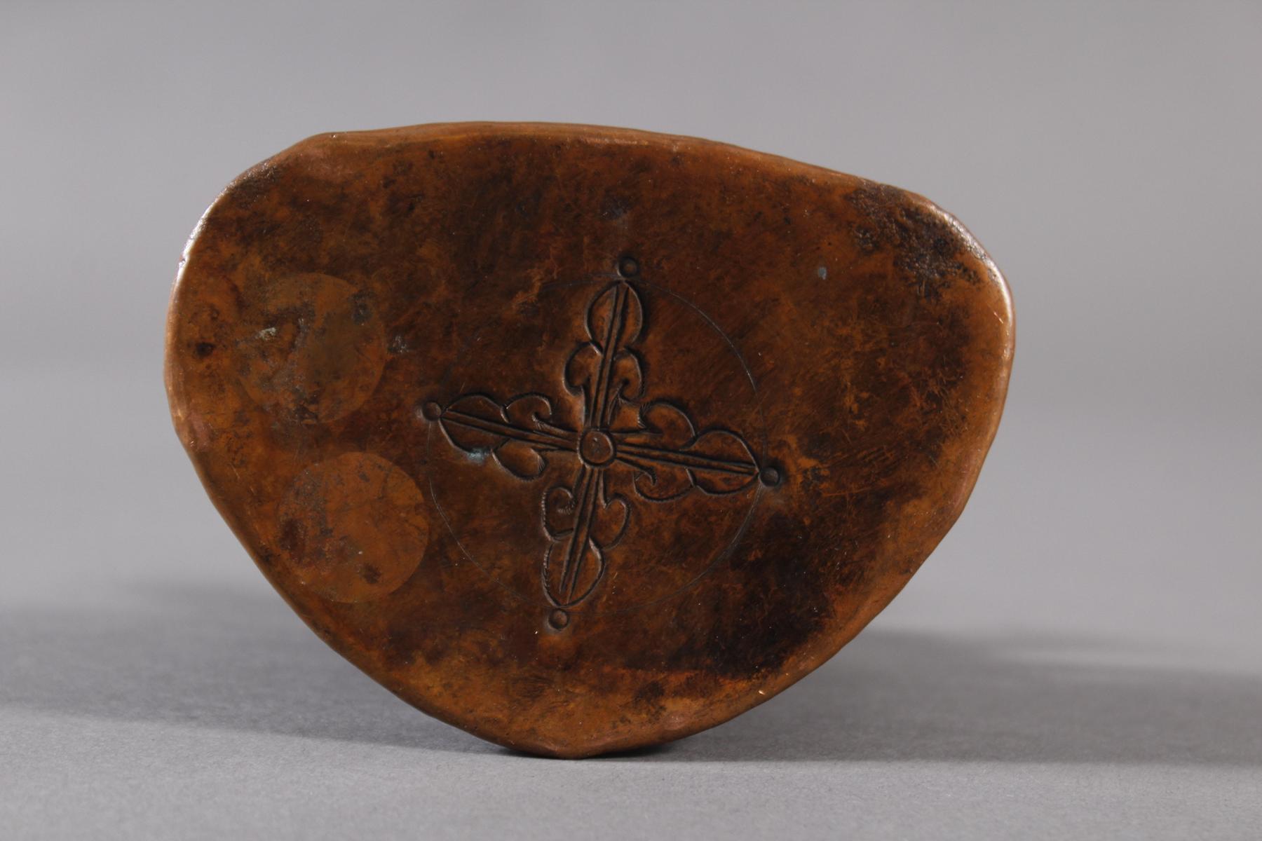 Bronze Buddha, Tibet 19. Jahrhundert-5