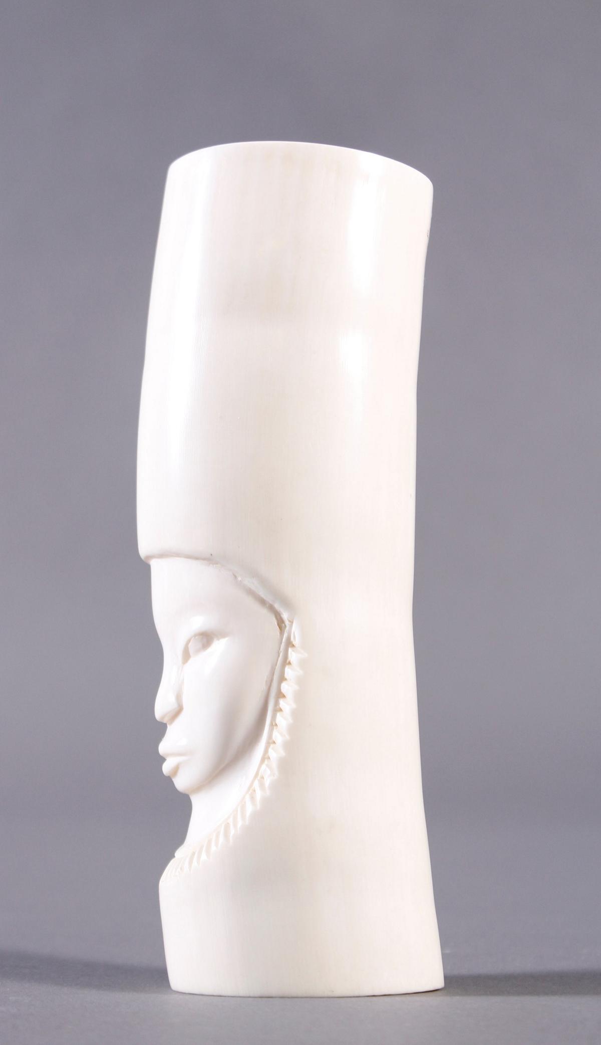 Elfenbein Schnitzerei, Afrika um 1920-4