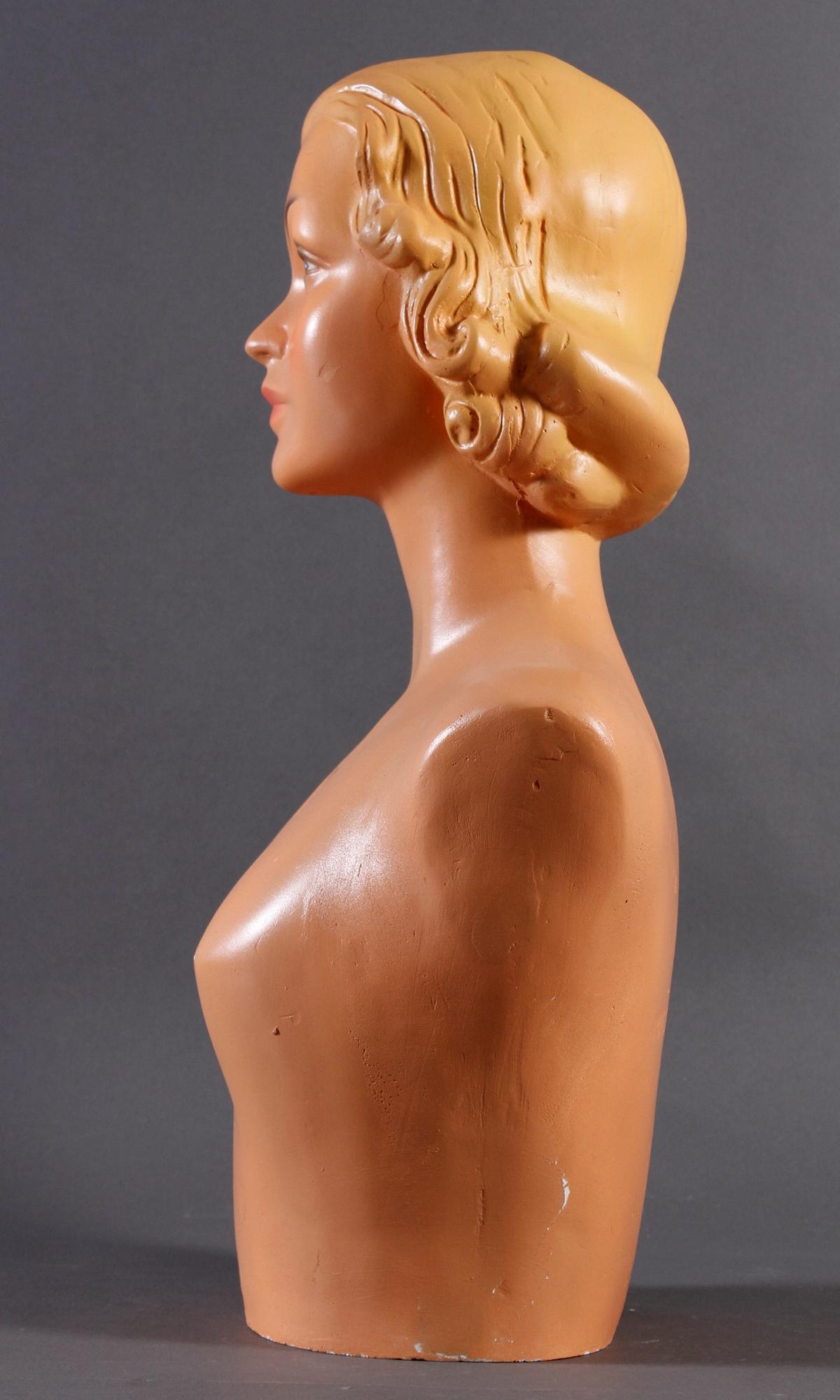 Weibliche Werbebüste, Frankreich 60er Jahre-6