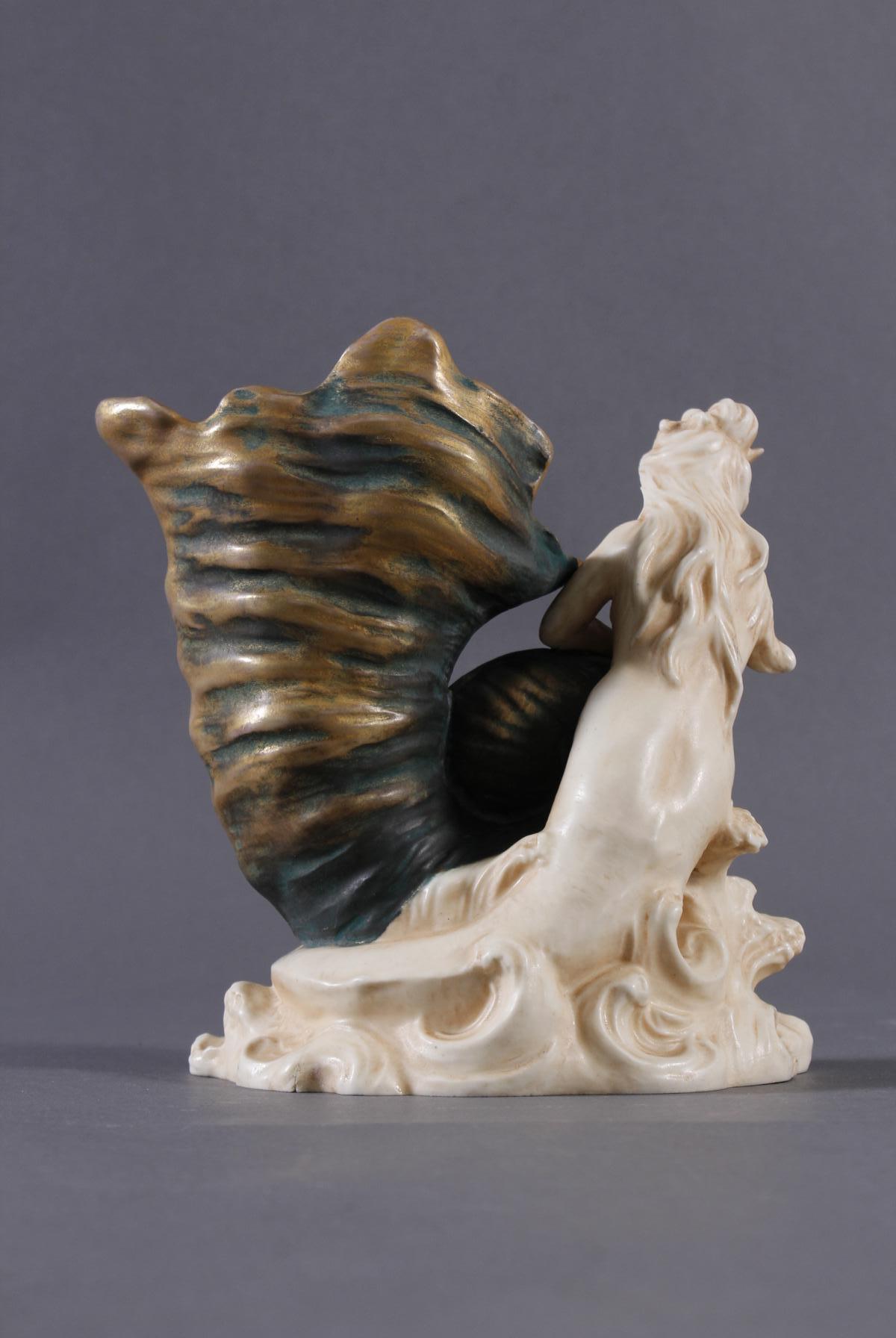 Porzellanfigurenvase, Jugendstil-3
