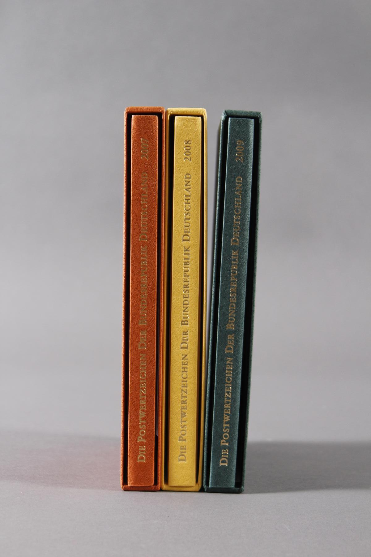 Jahrbücher Bundesrespublik Deutschland 2007-2009