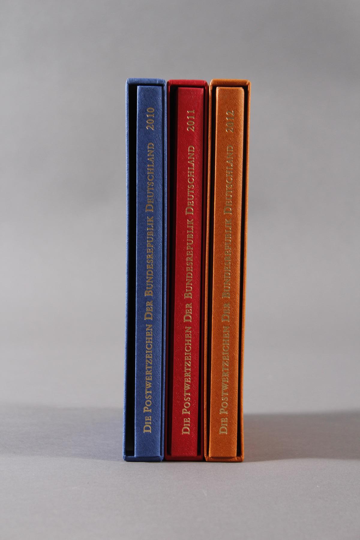 Jahrbücher Bundesrespublik Deutschland 2010-2012