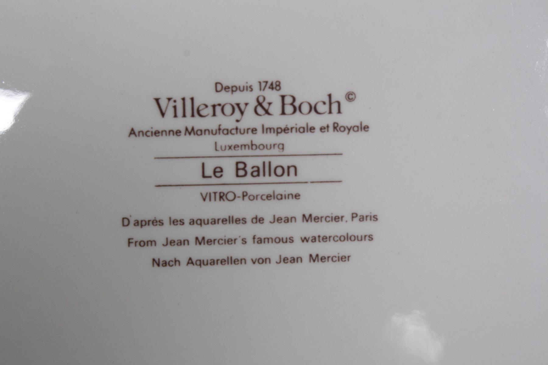 Villeroy & Boch Service-Teile, Dekor: Le Ballon-3