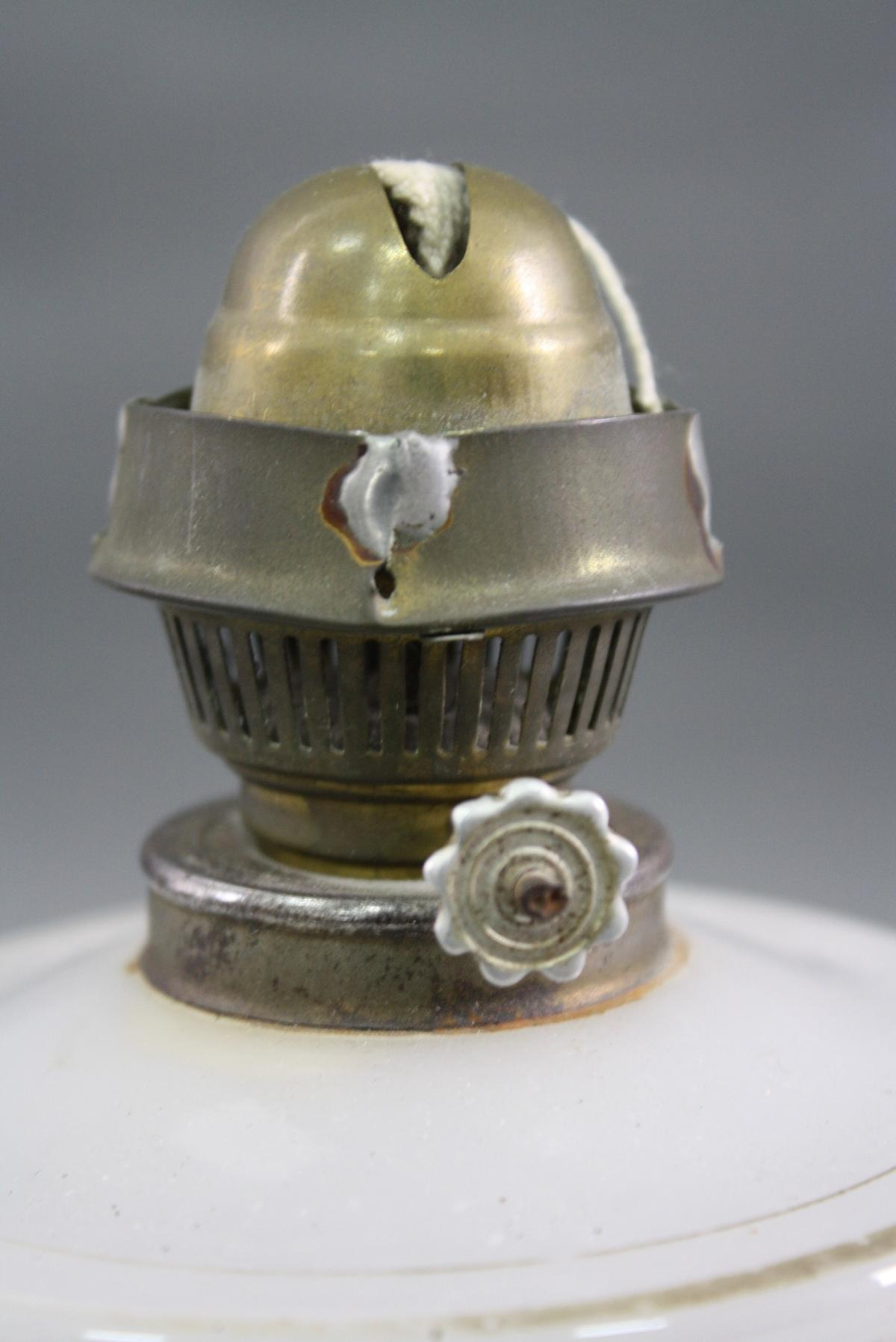 Petroleum-Tischlampe, Biedermeier-3