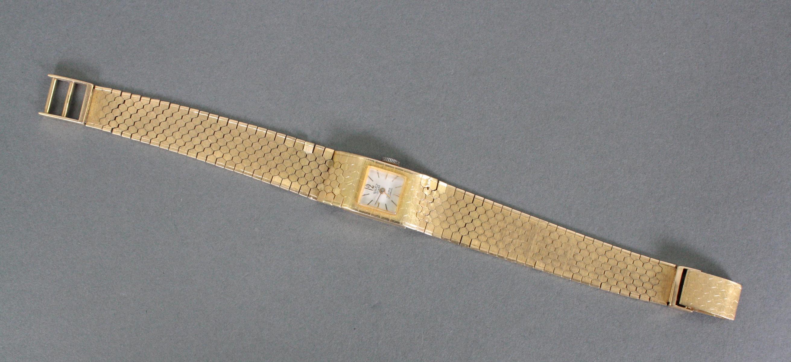 Damenarmbanduhr Roxy Anker, 18 Karat Gelbgold