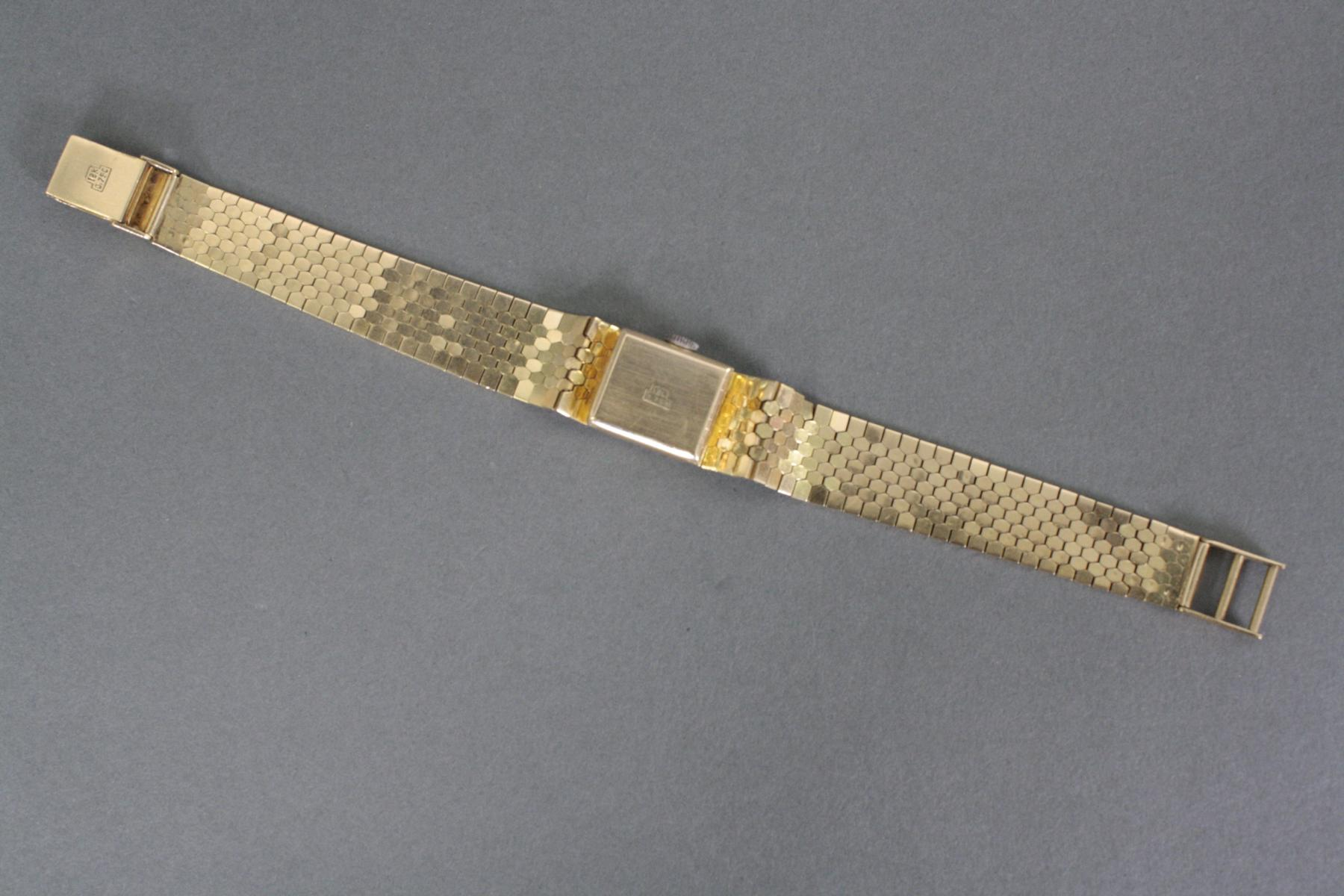 Damenarmbanduhr Roxy Anker, 18 Karat Gelbgold-3