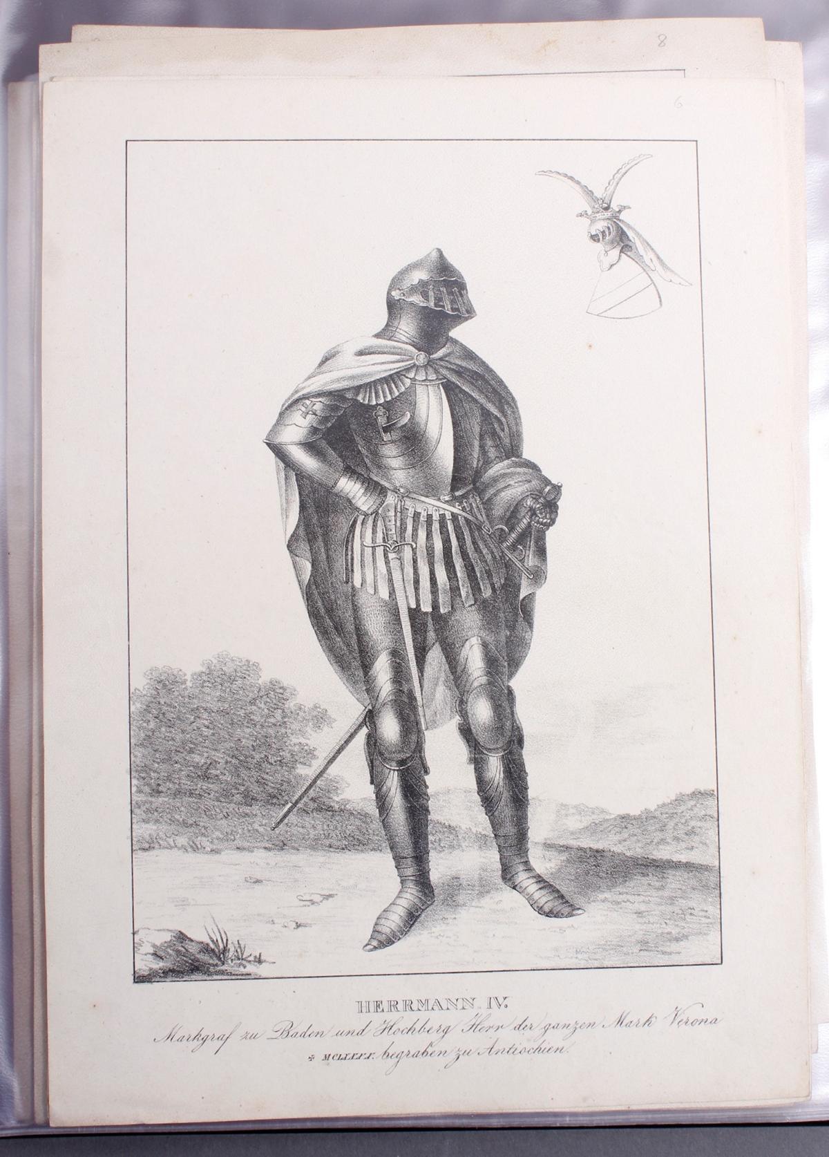 Abbildungen der Regenten des fürstlichen Hauses Baden-7