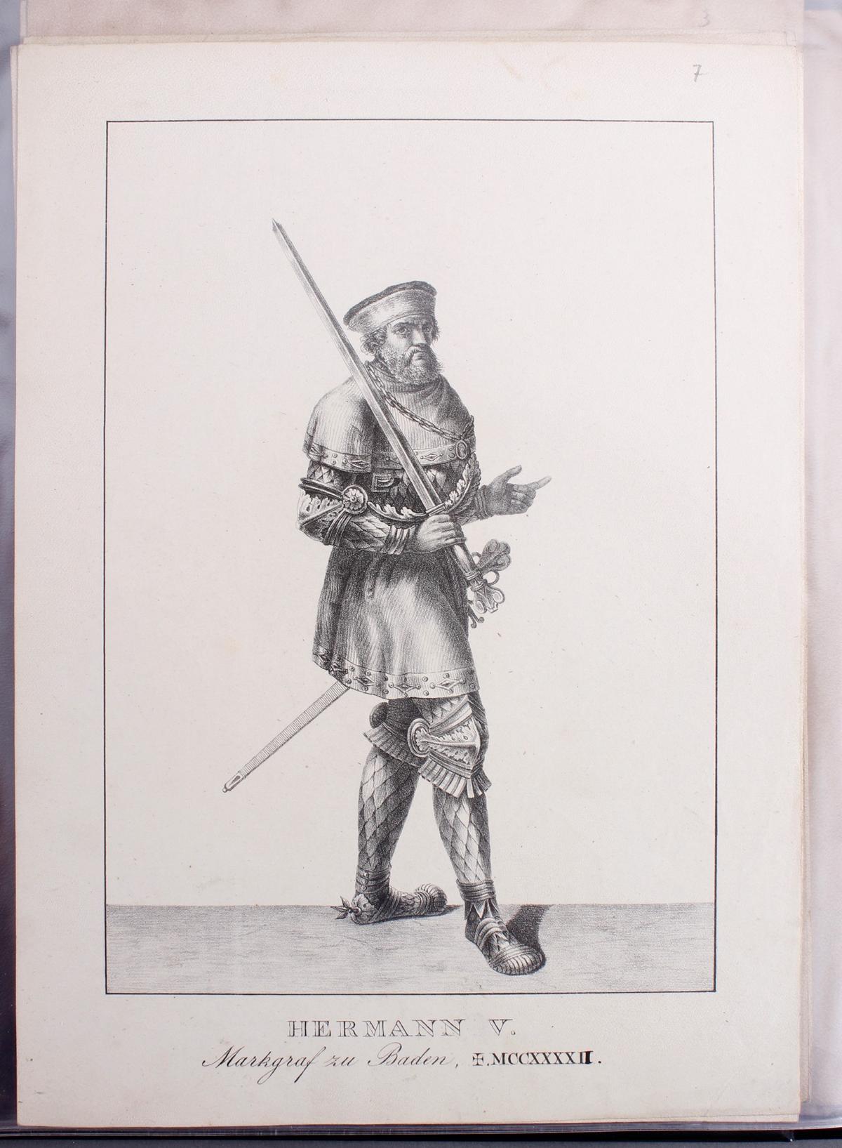 Abbildungen der Regenten des fürstlichen Hauses Baden-8