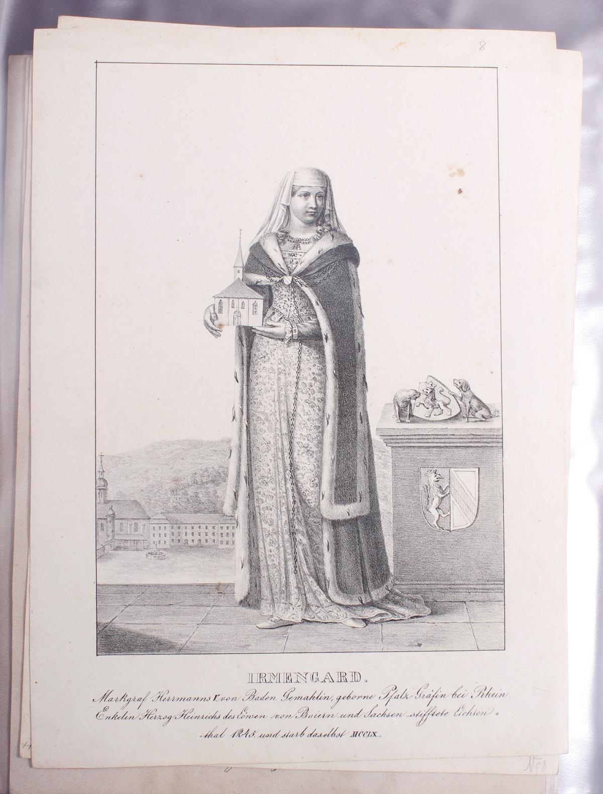 Abbildungen der Regenten des fürstlichen Hauses Baden-9