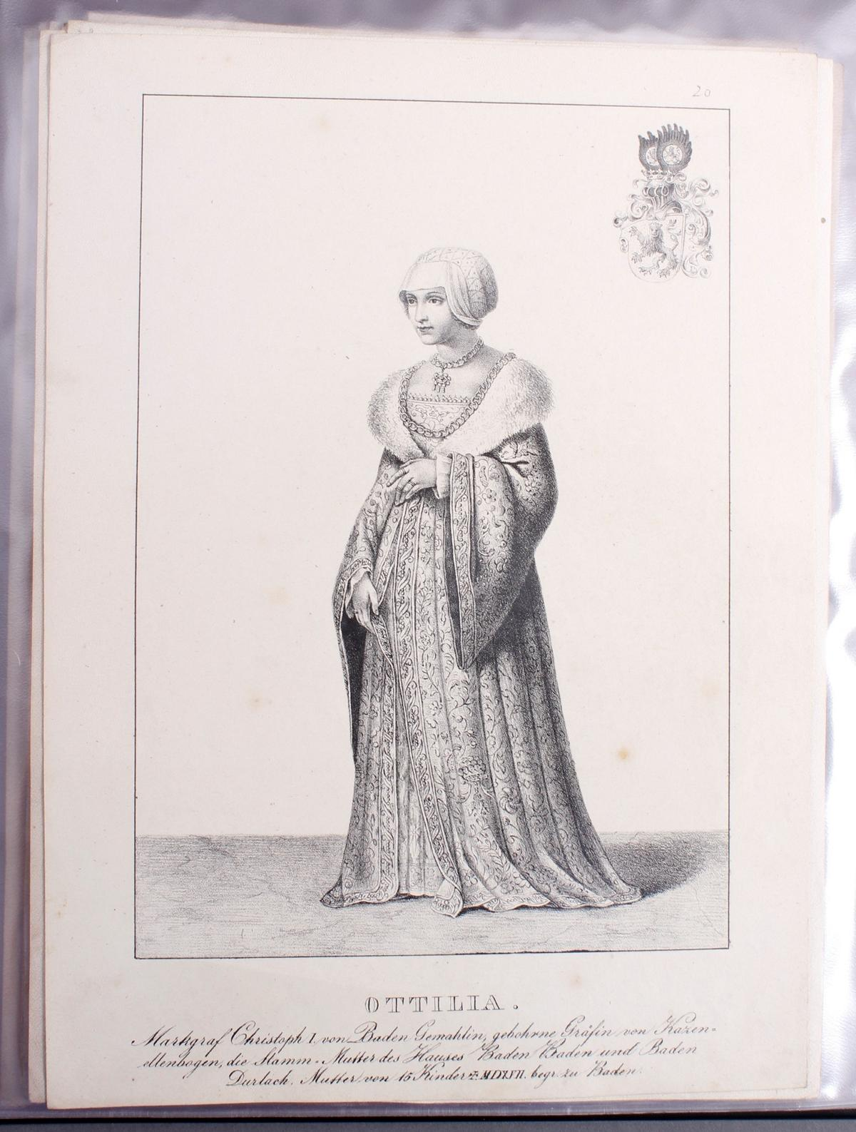 Abbildungen der Regenten des fürstlichen Hauses Baden-21