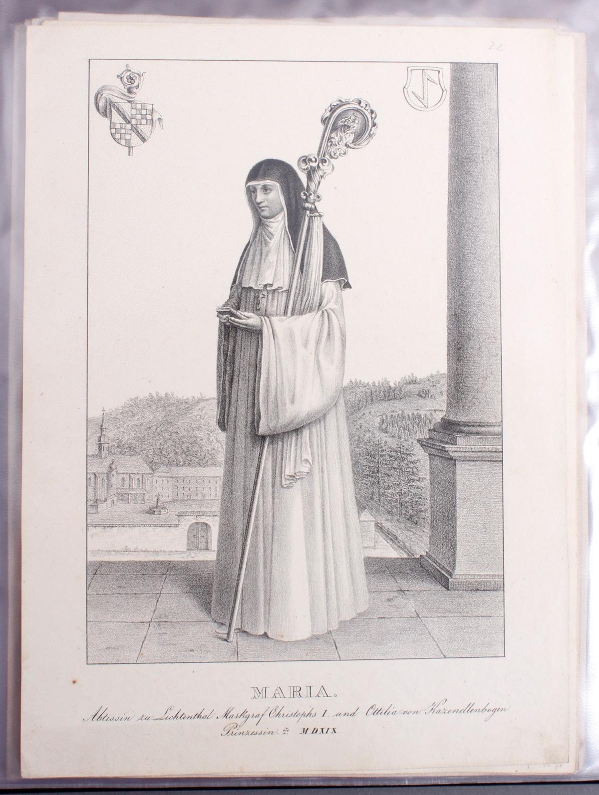 Abbildungen der Regenten des fürstlichen Hauses Baden-22